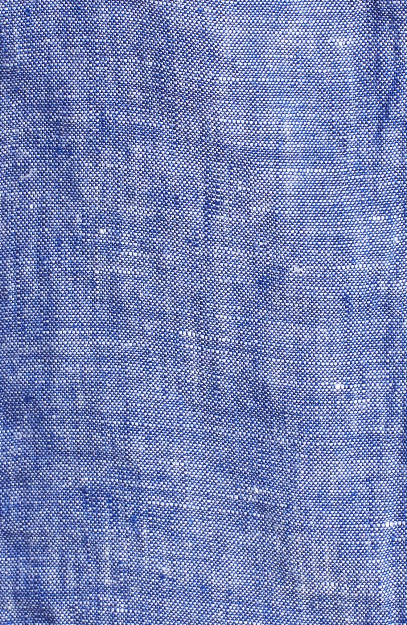 Linen Chambray Shirt,                             Alternate thumbnail 34, color,