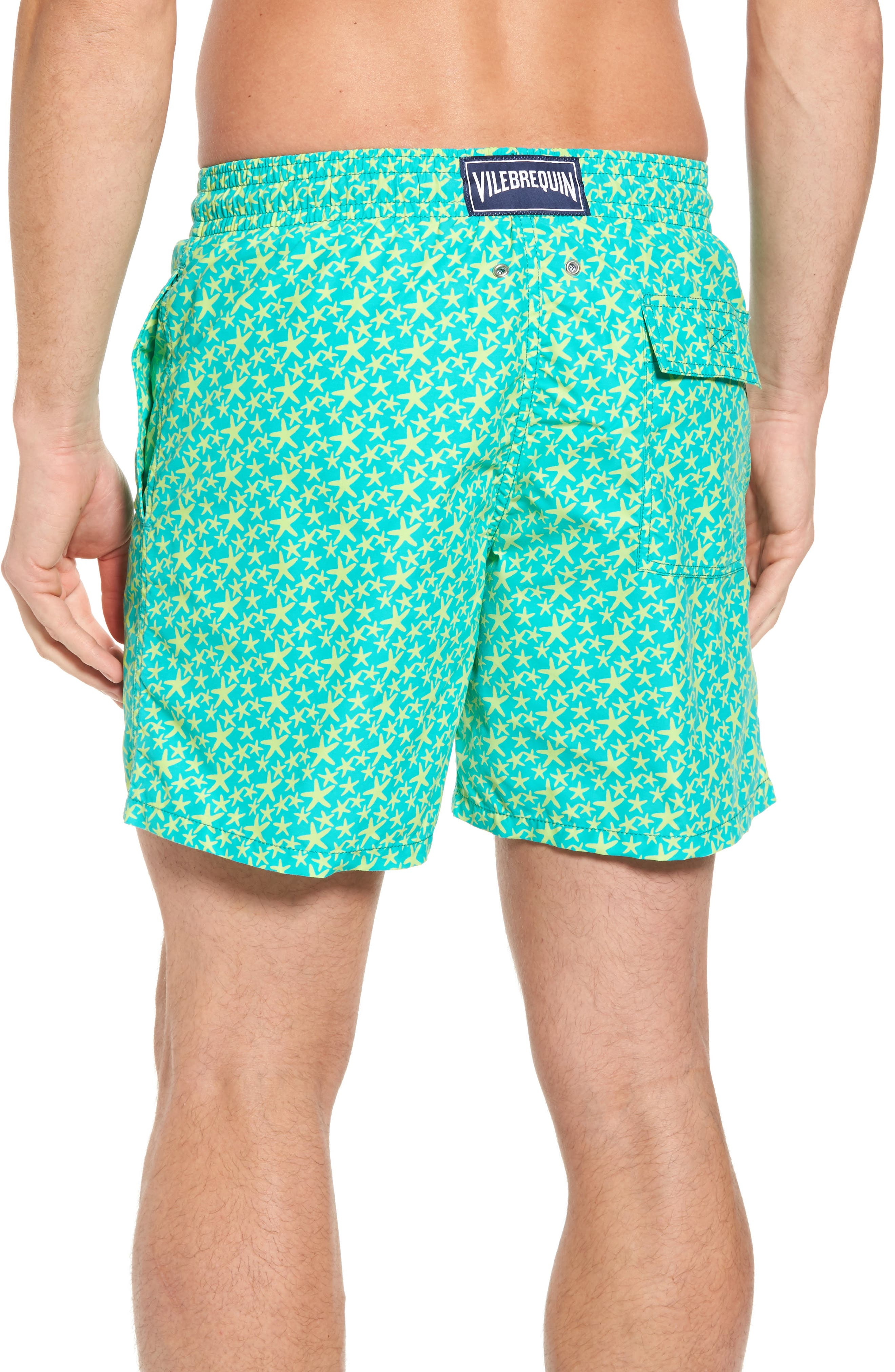 Micro Starlets Swim Trunks,                             Alternate thumbnail 2, color,                             348