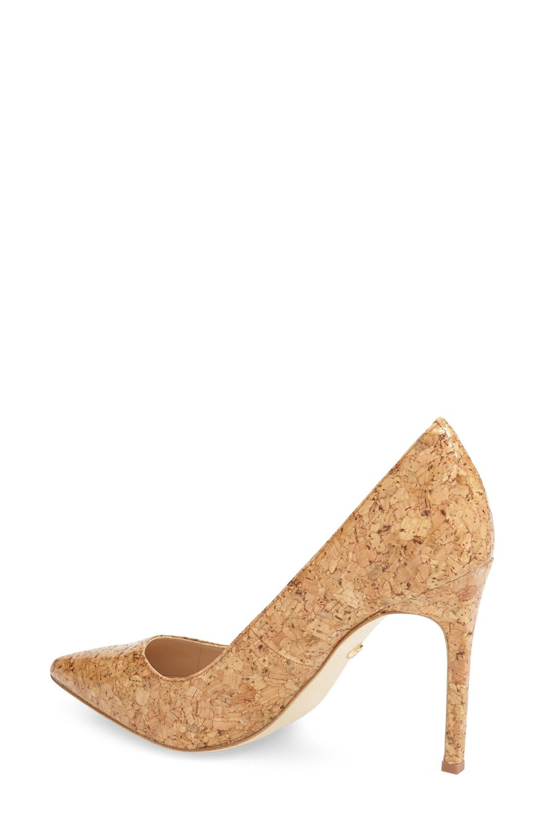 'Caterina' Pointy Toe Pump,                             Alternate thumbnail 16, color,