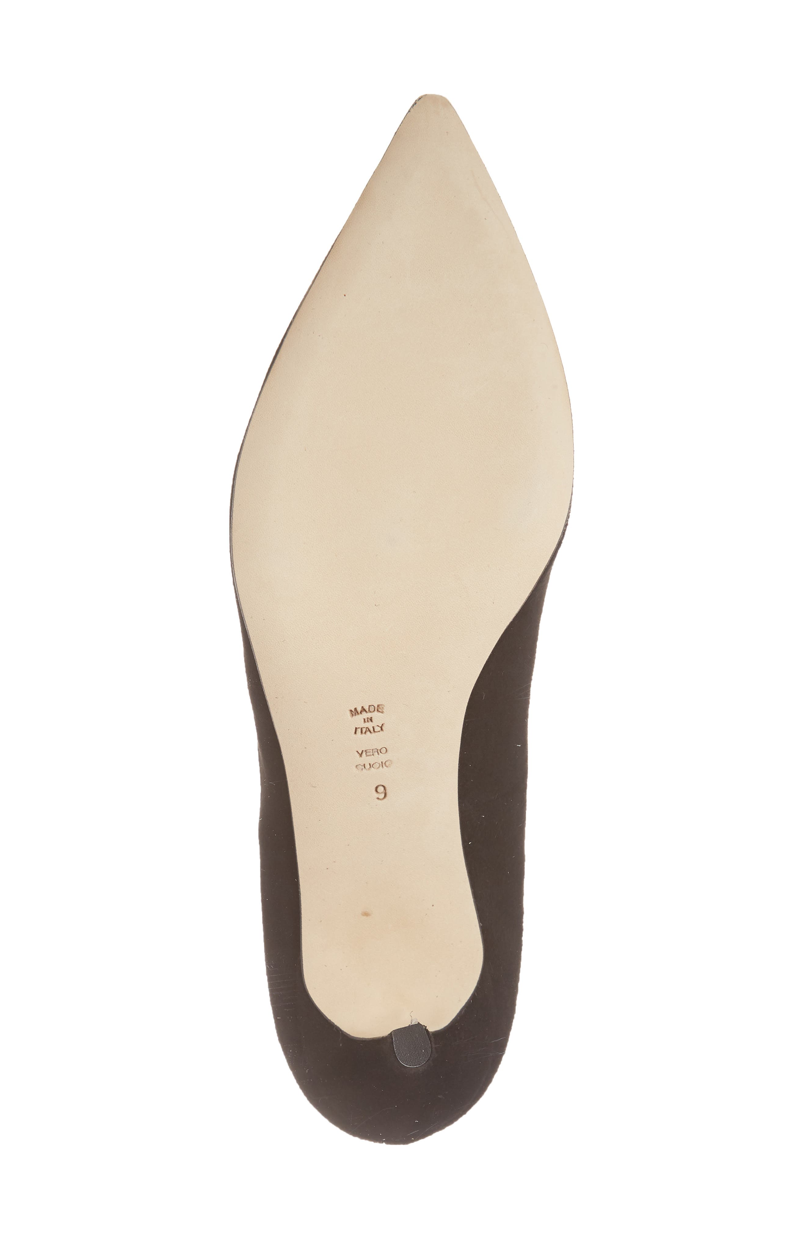Butter Eris Pointy Toe Pump,                             Alternate thumbnail 6, color,                             001