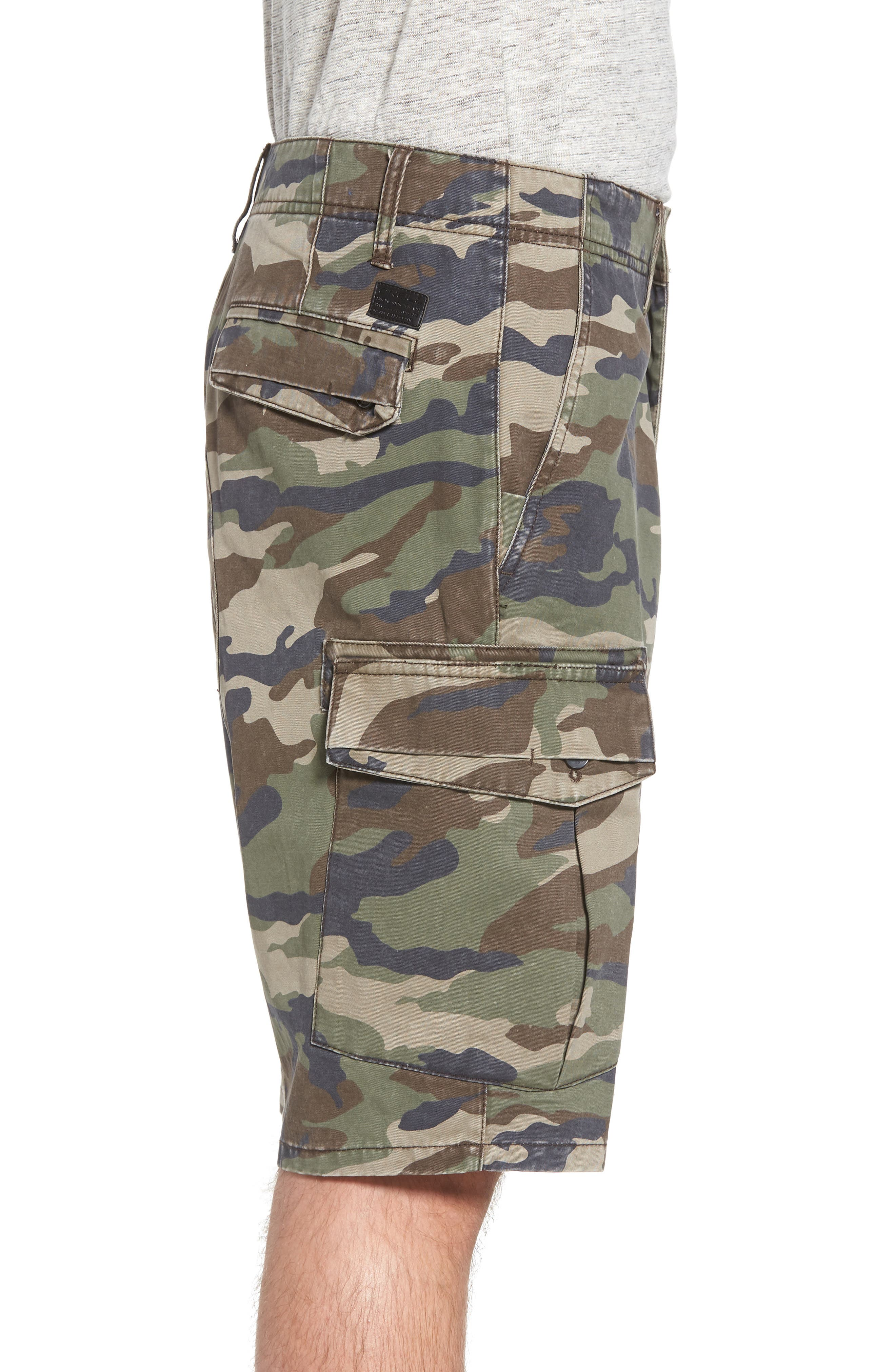 Campbell Cargo Shorts,                             Alternate thumbnail 6, color,
