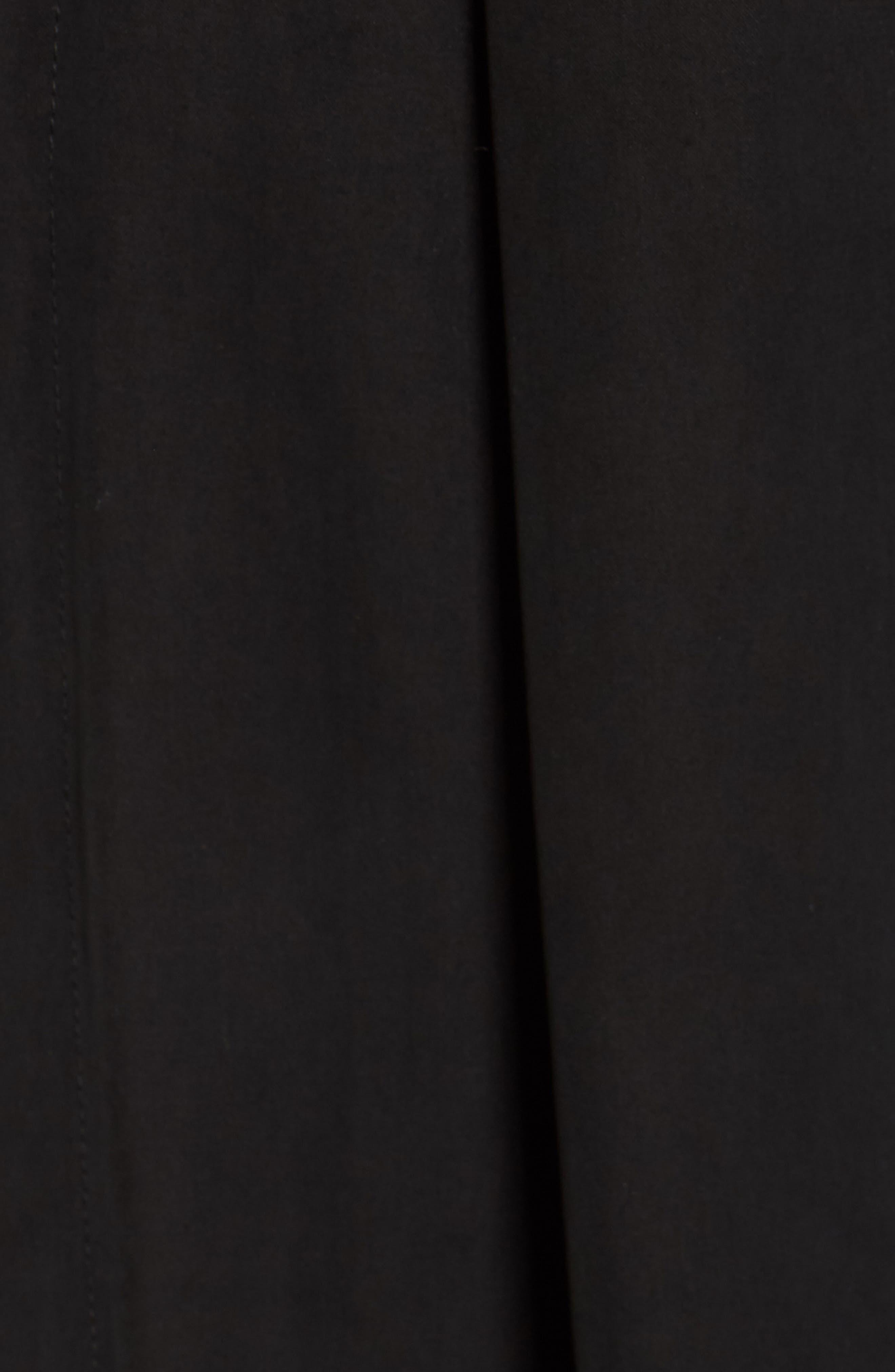 Satin Paperbag Waist Jumpsuit,                             Alternate thumbnail 6, color,                             001
