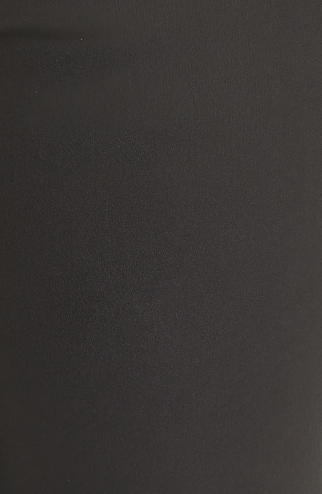 Darnella Leather Pants,                             Alternate thumbnail 5, color,                             002