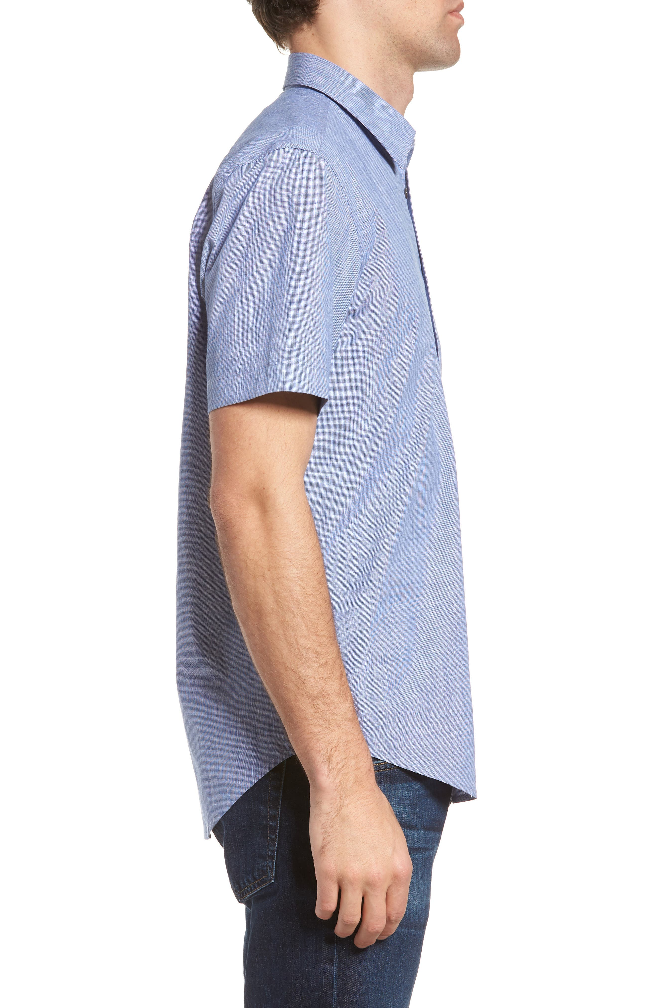 Savas Regular Fit Sport Shirt,                             Alternate thumbnail 5, color,