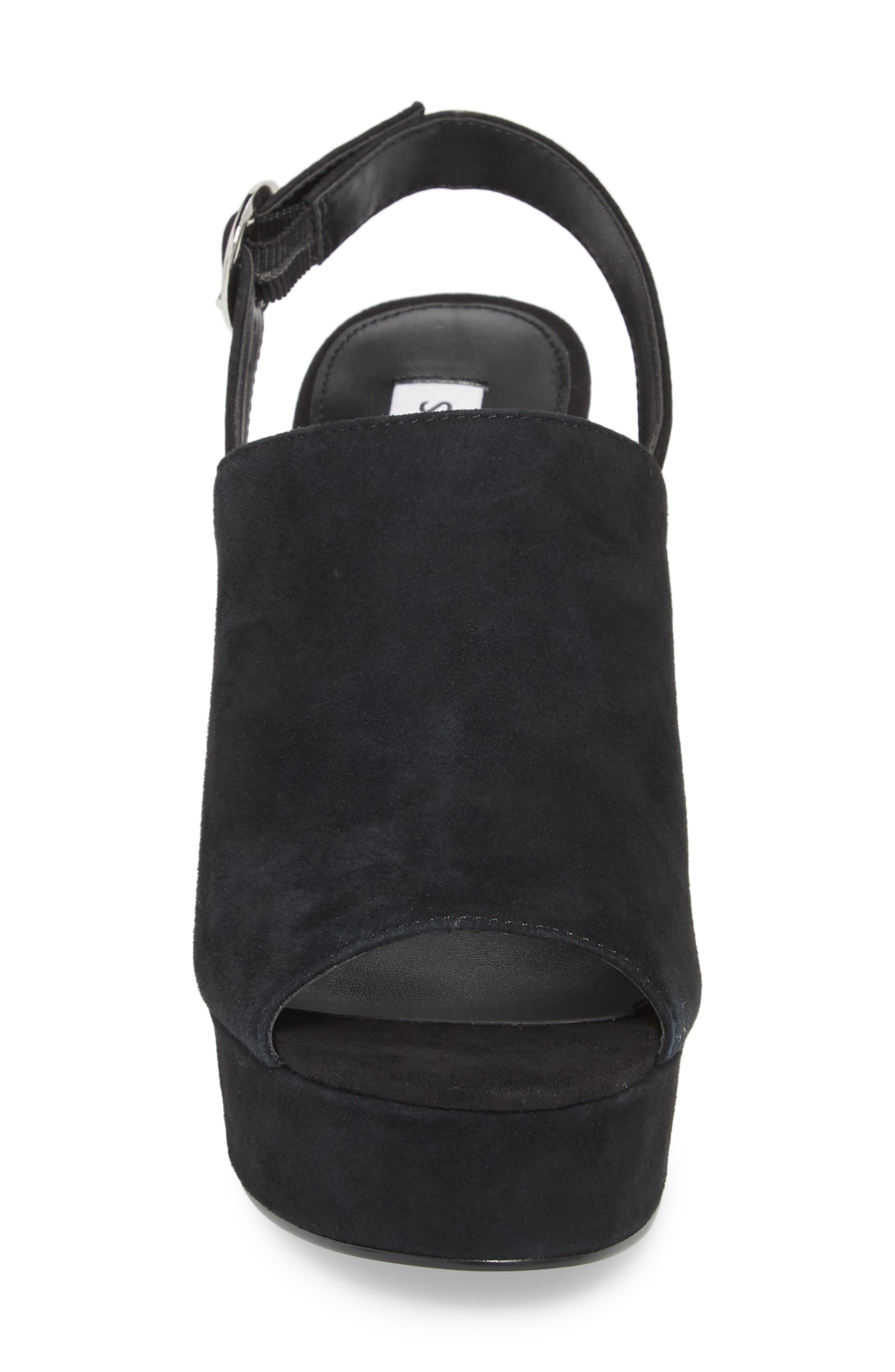Carter Slingback Platform Sandal,                             Alternate thumbnail 4, color,                             006