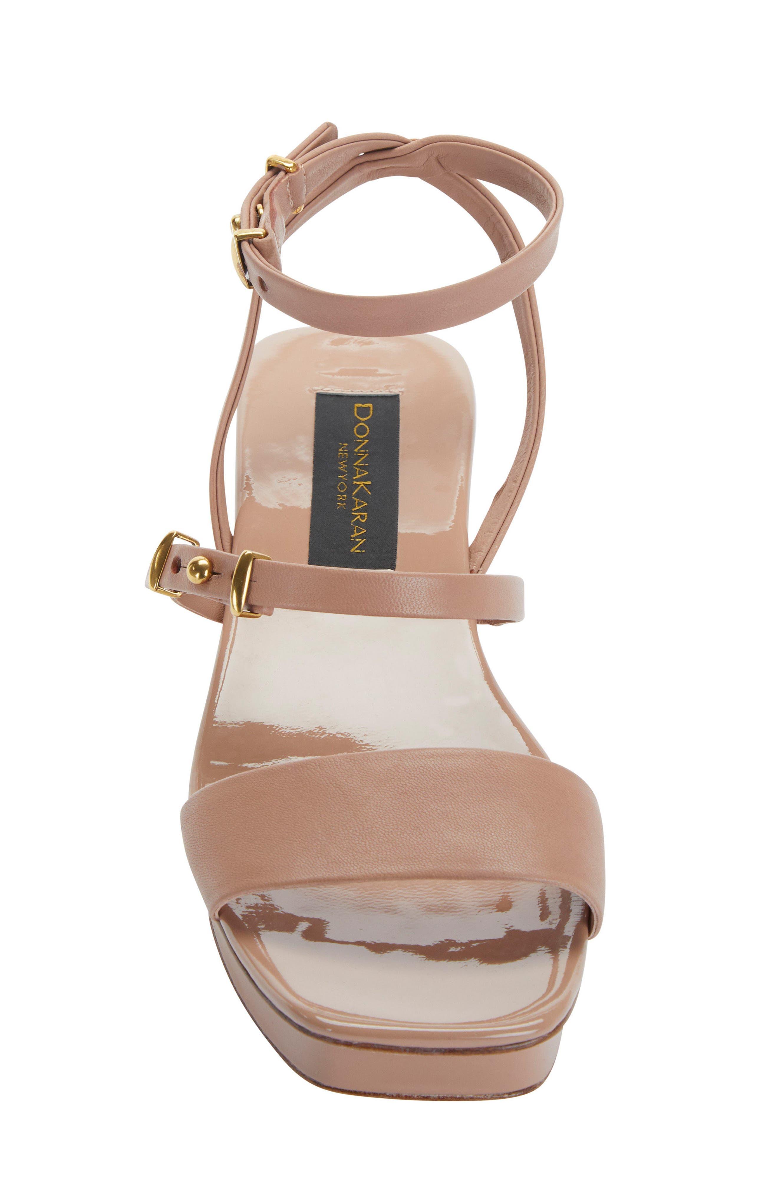 Ankle Strap Wedge Sandal,                             Alternate thumbnail 8, color,