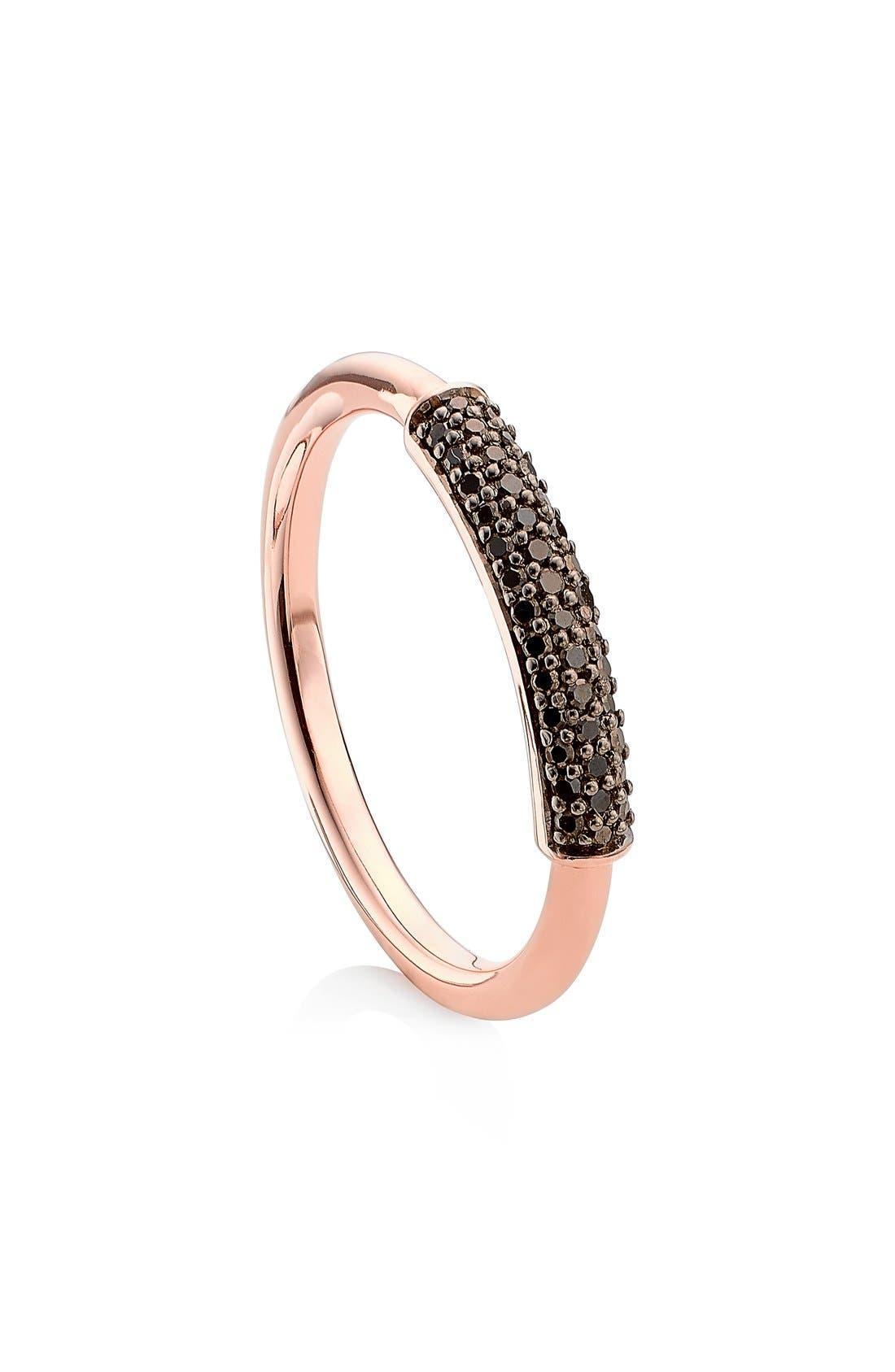 'Stellar' Diamond Band Ring,                             Main thumbnail 1, color,                             001