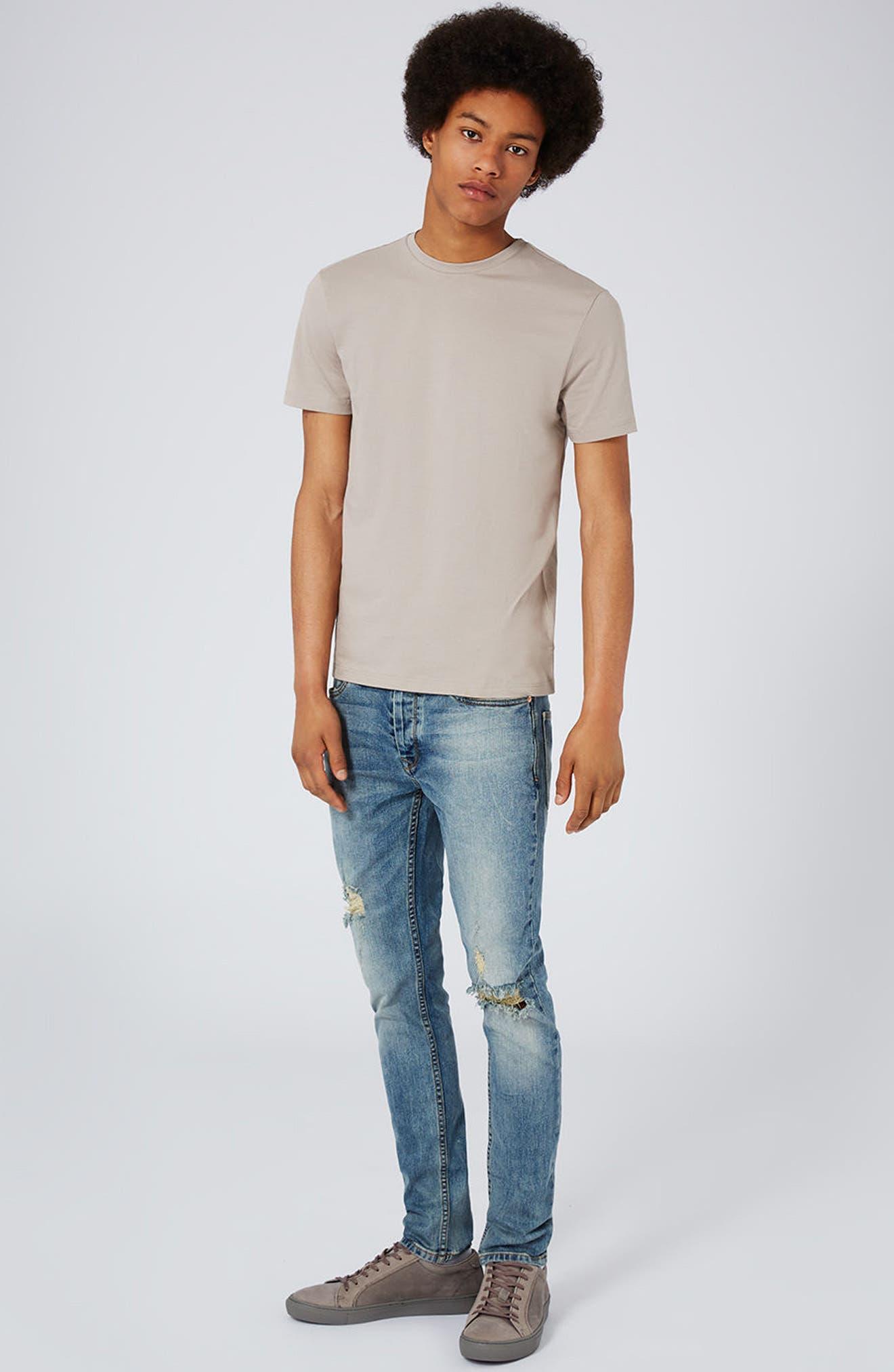 Slim Fit Crewneck T-Shirt,                             Alternate thumbnail 289, color,