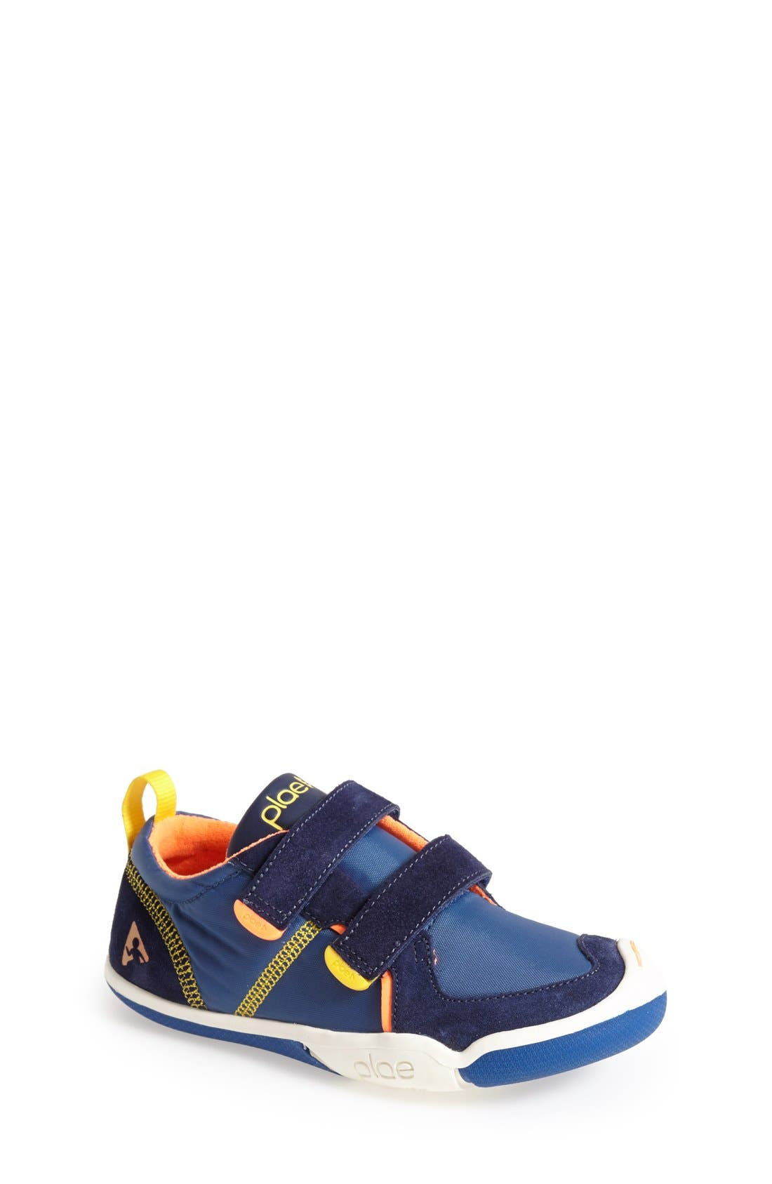 Ty Customizable Sneaker,                             Main thumbnail 1, color,                             DARK BLUE