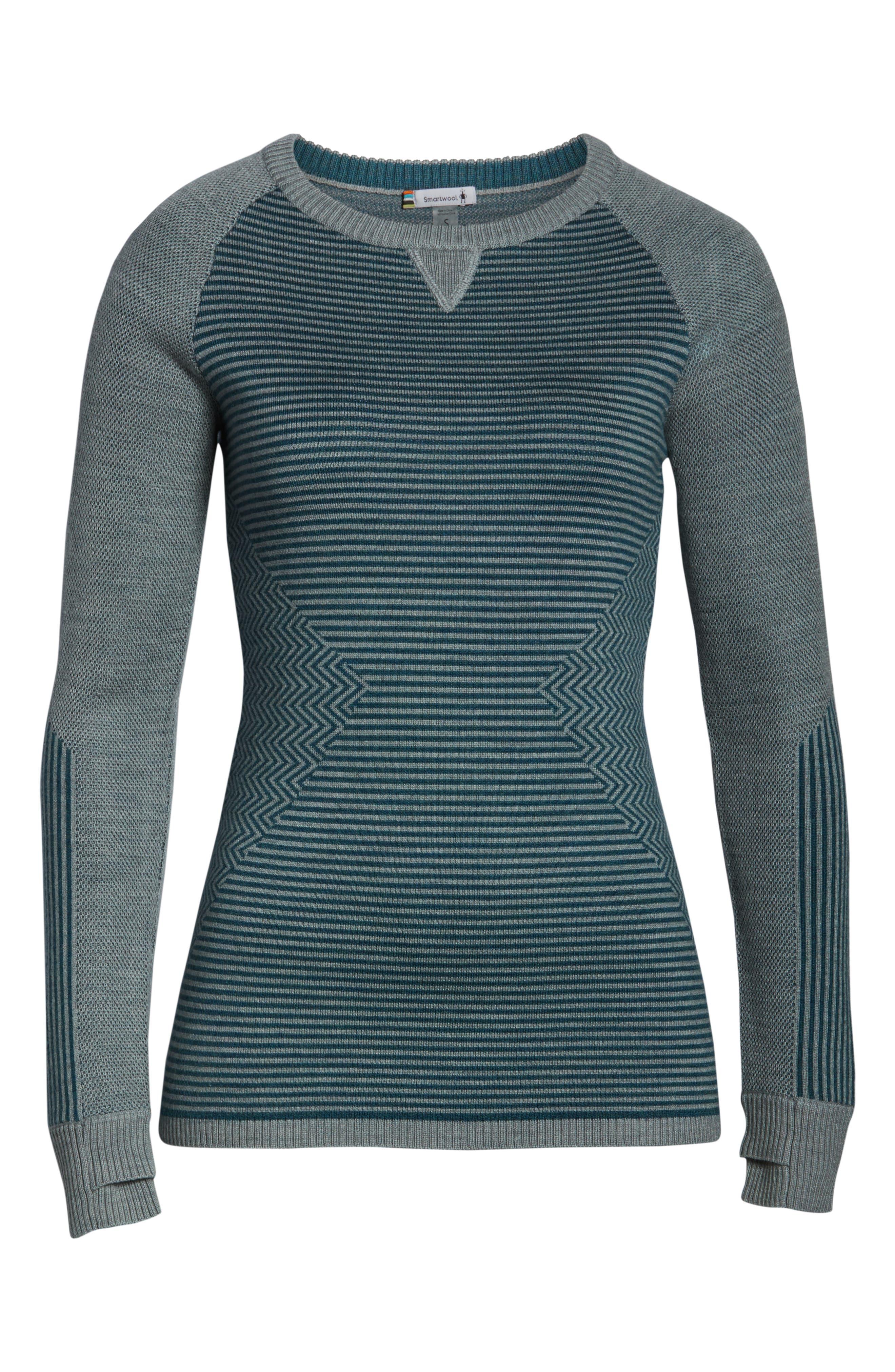 SMARTWOOL,                             Dacono Ski Sweater,                             Alternate thumbnail 7, color,                             310