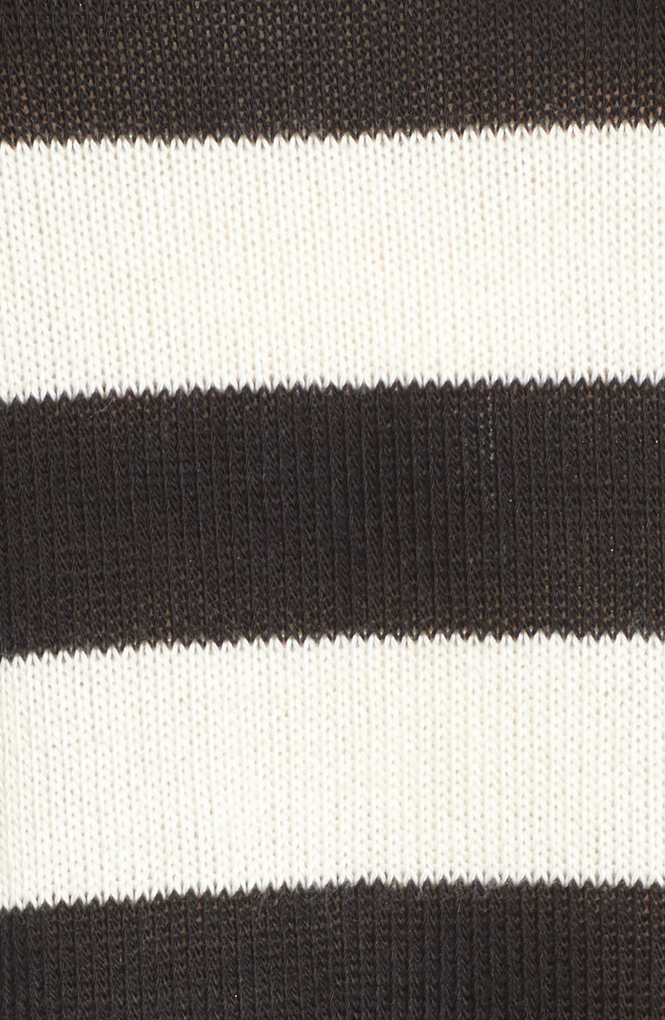 Kingston Stripe Sweater,                             Alternate thumbnail 5, color,                             001