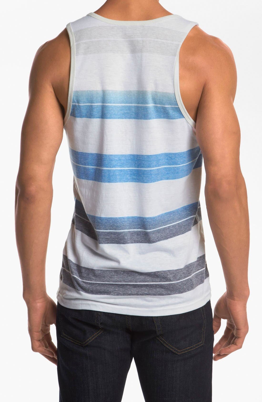HURLEY,                             'Hawk 2.0' Tank Top,                             Alternate thumbnail 3, color,                             096