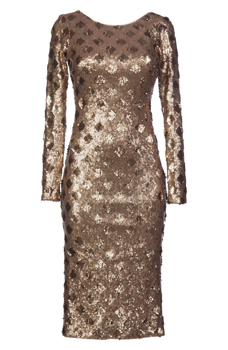 Dress the Population Emery Sequin Sheath Dress | Nordstrom