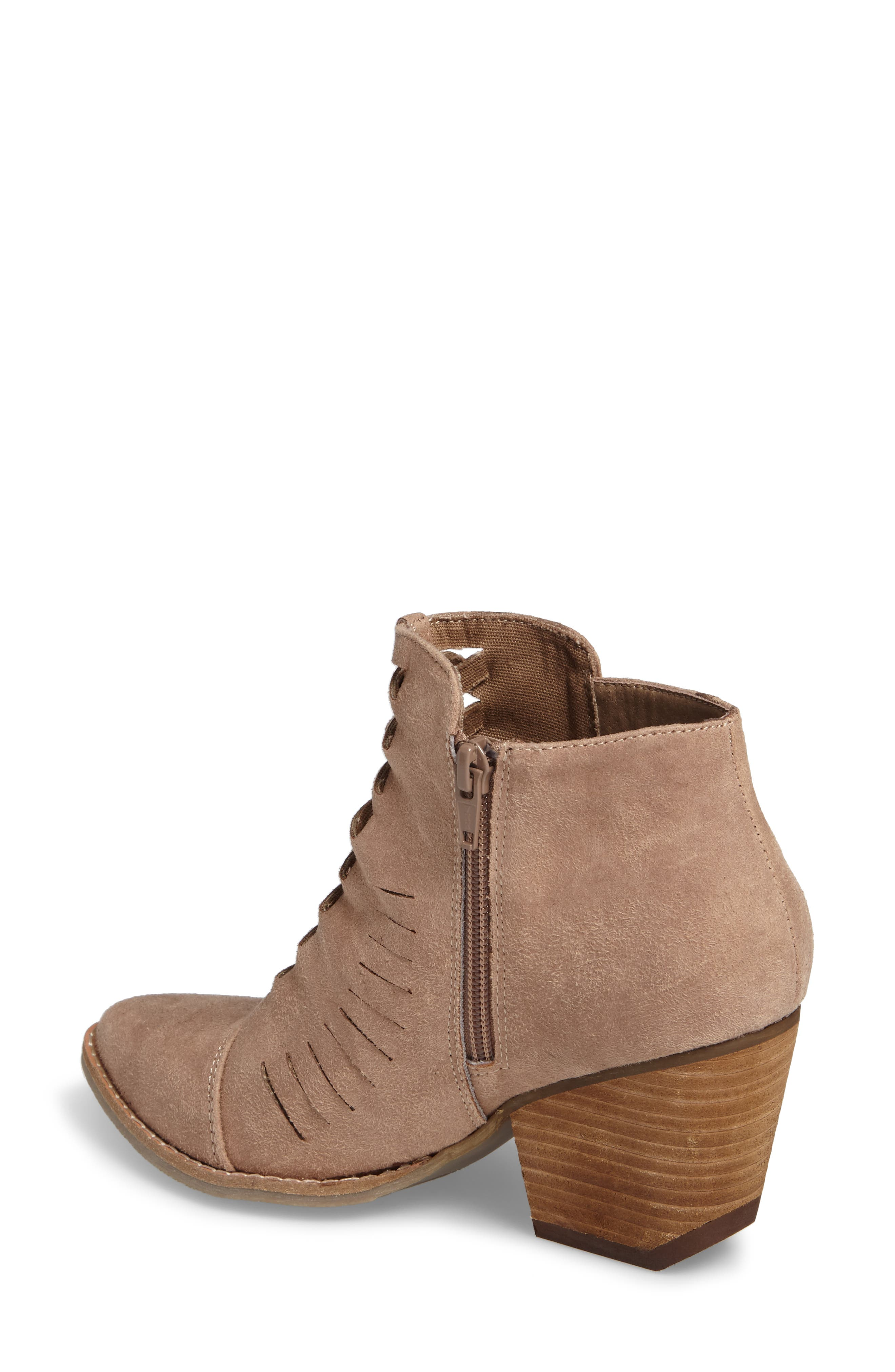 Ally Woven Bootie,                             Alternate thumbnail 4, color,