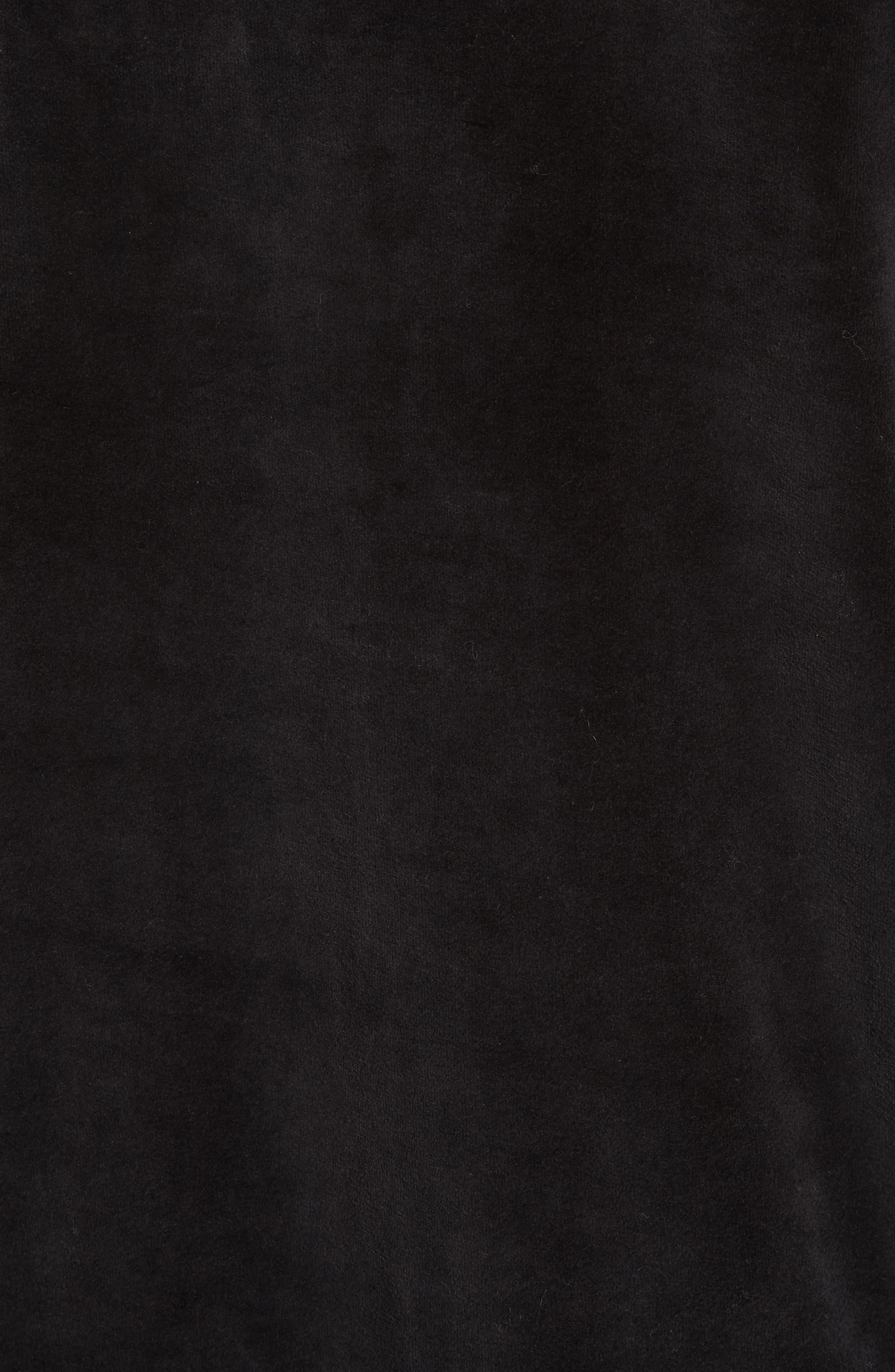 Velour Pullover,                             Alternate thumbnail 5, color,                             001