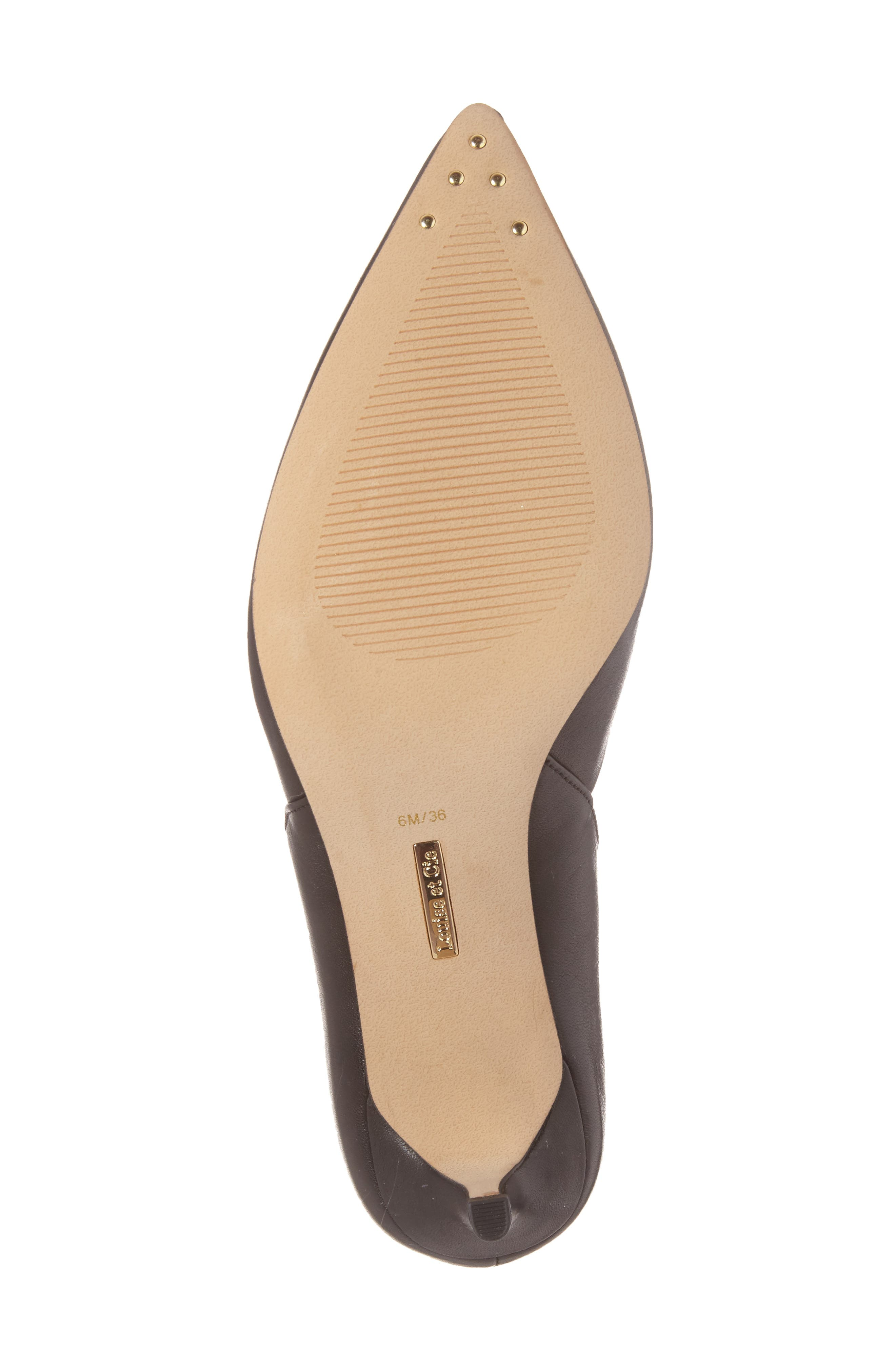 Jacee Pointy Toe Pump,                             Alternate thumbnail 6, color,                             002