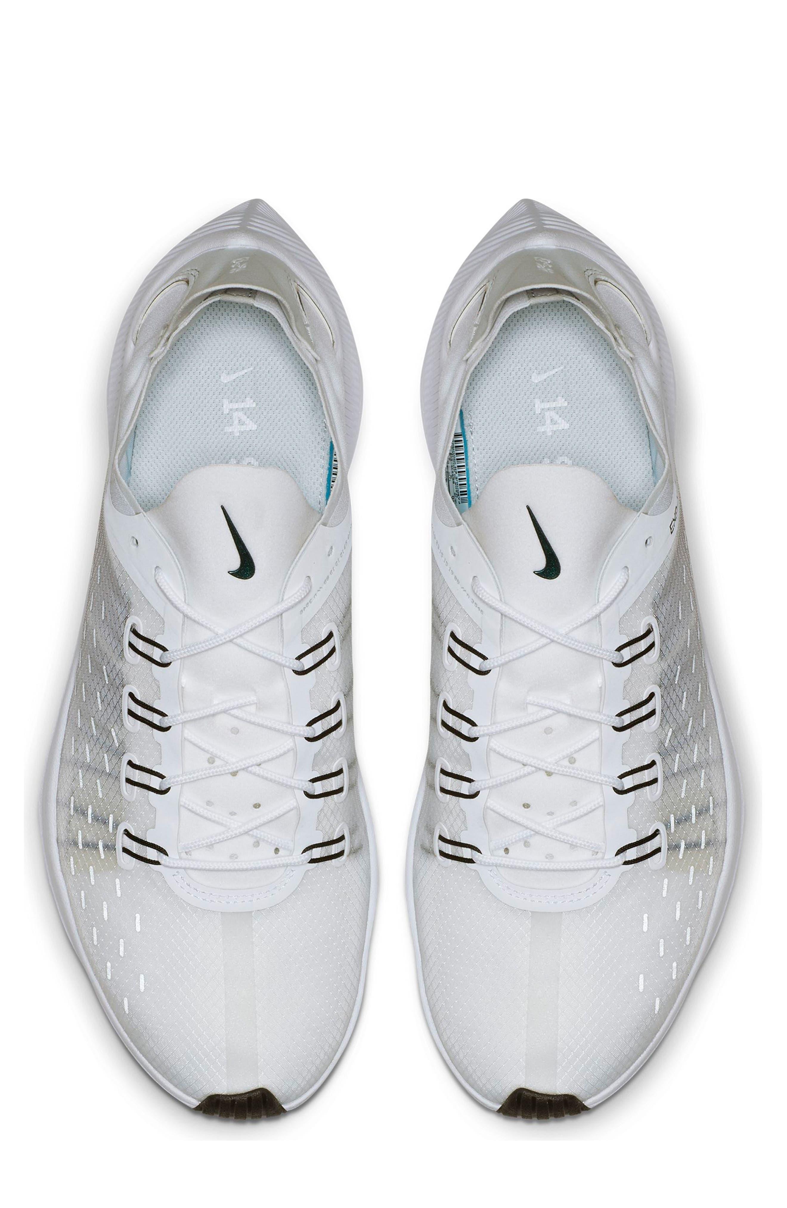 NIKE,                             EXP-X14 Y2K Running Shoe,                             Alternate thumbnail 3, color,                             WHITE/ PURE PLATINUM/ BLACK