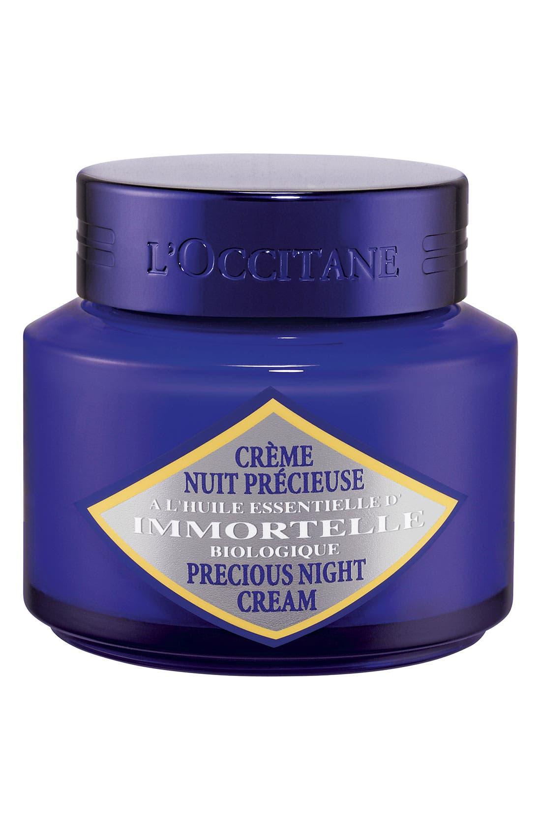 'Immortelle' Precious Night Cream,                         Main,                         color, NO COLOR