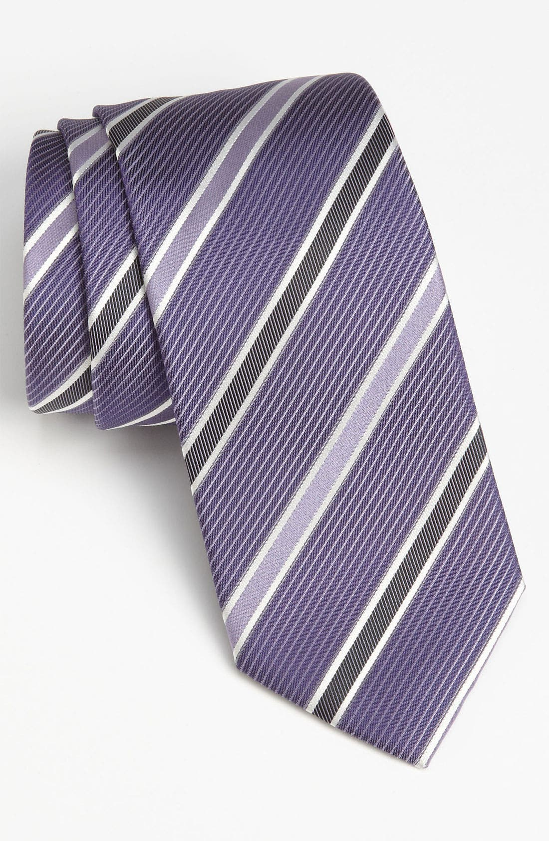 HUGO BOSS Woven Silk Tie,                             Main thumbnail 3, color,