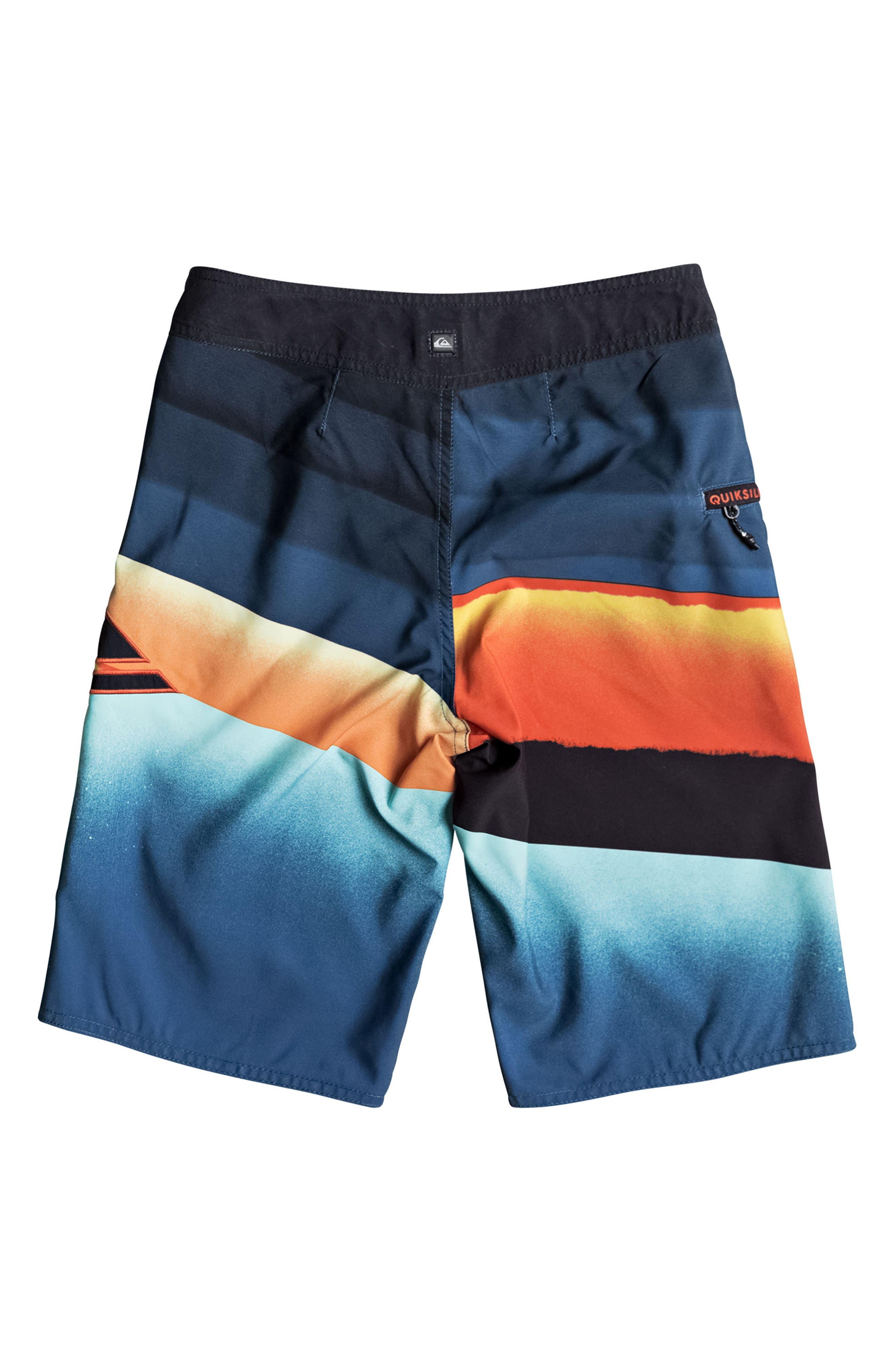 Slash Logo Board Shorts,                             Alternate thumbnail 2, color,                             407