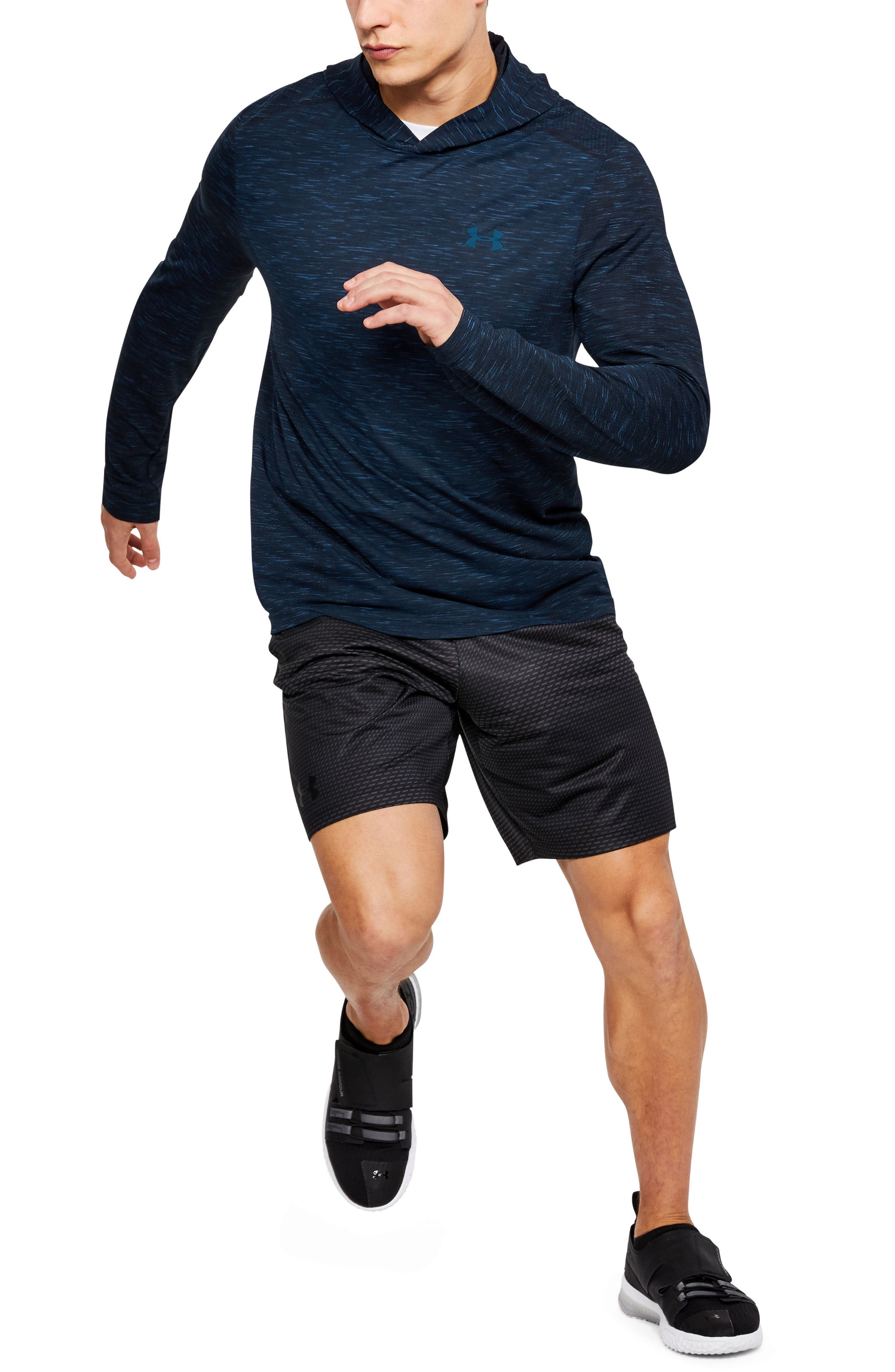 Threadbone Fitted Seamless Hoodie,                             Alternate thumbnail 27, color,