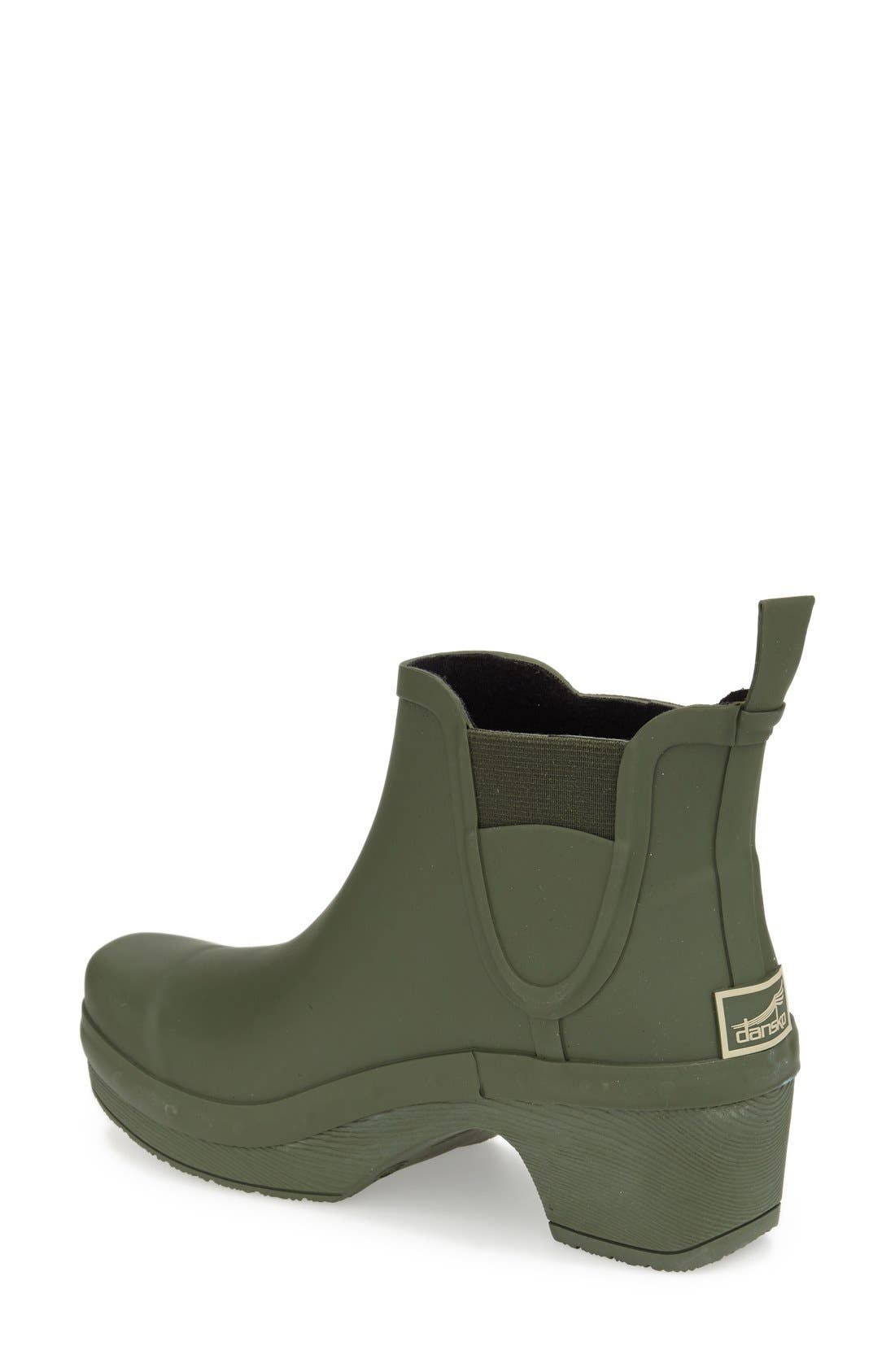 'Rosa' Chelsea Rain Boot,                             Alternate thumbnail 5, color,