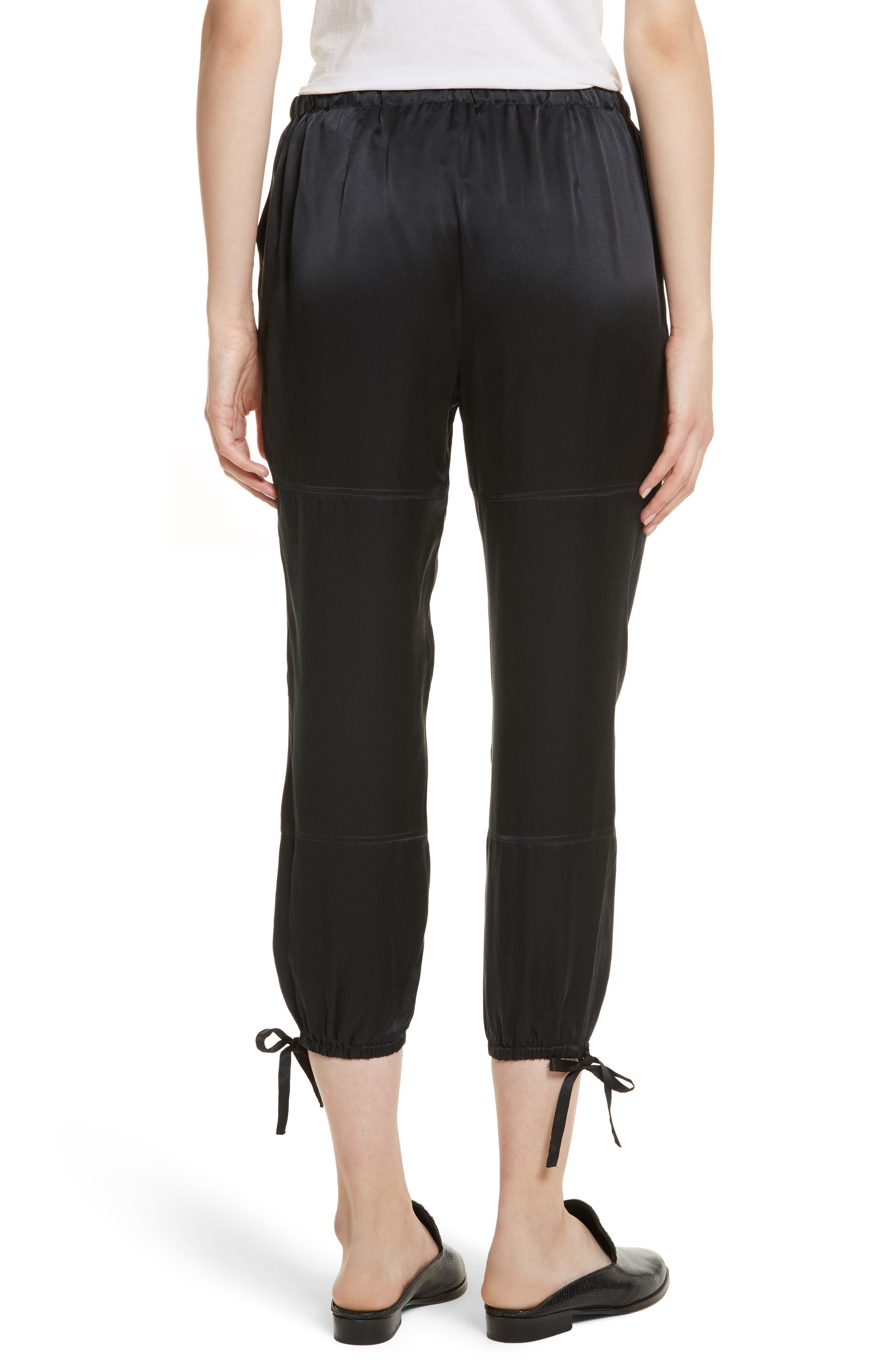 Dyre D Silk Jogger Pants,                             Alternate thumbnail 2, color,                             002