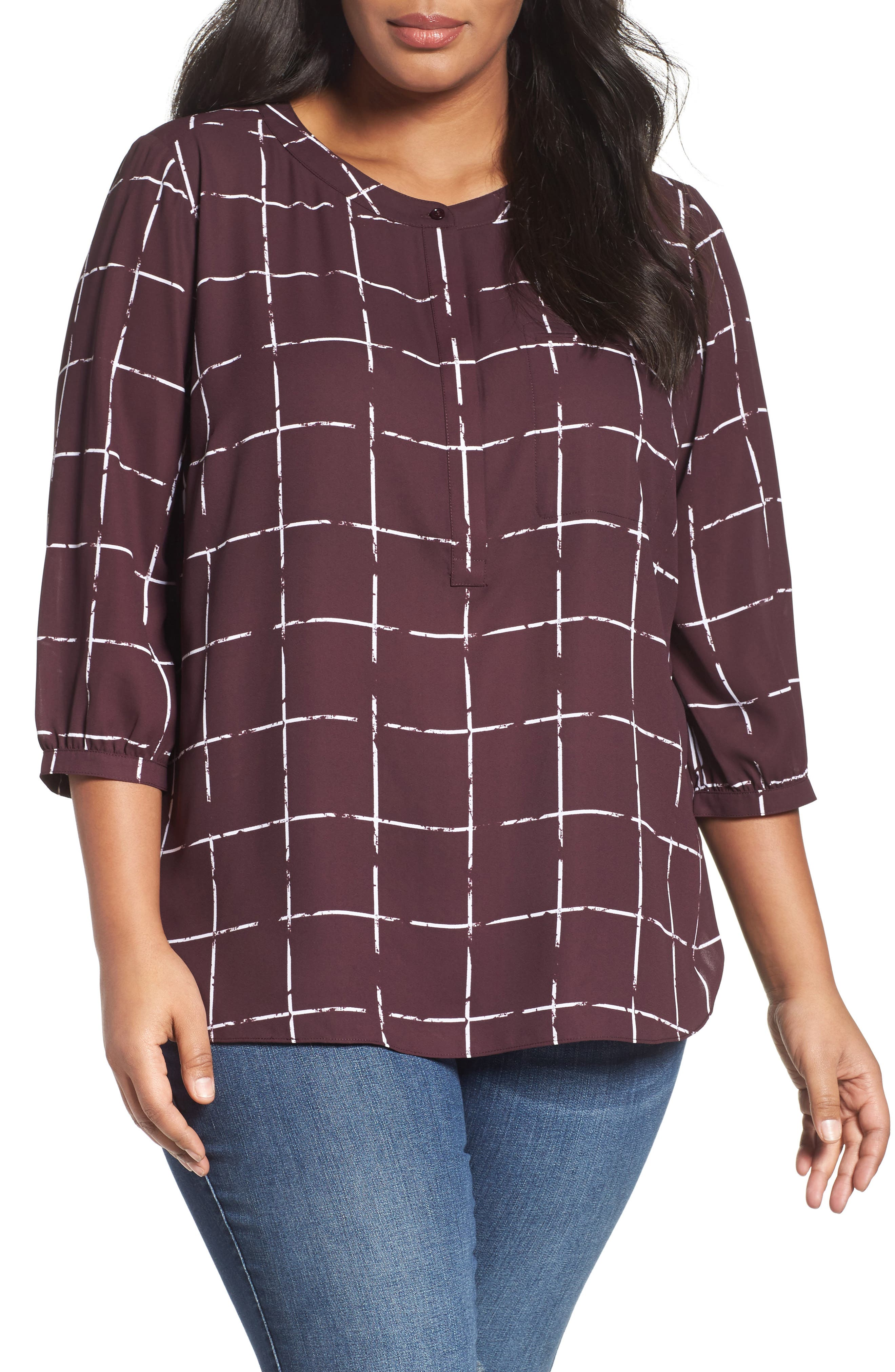 Henley Top,                             Alternate thumbnail 167, color,