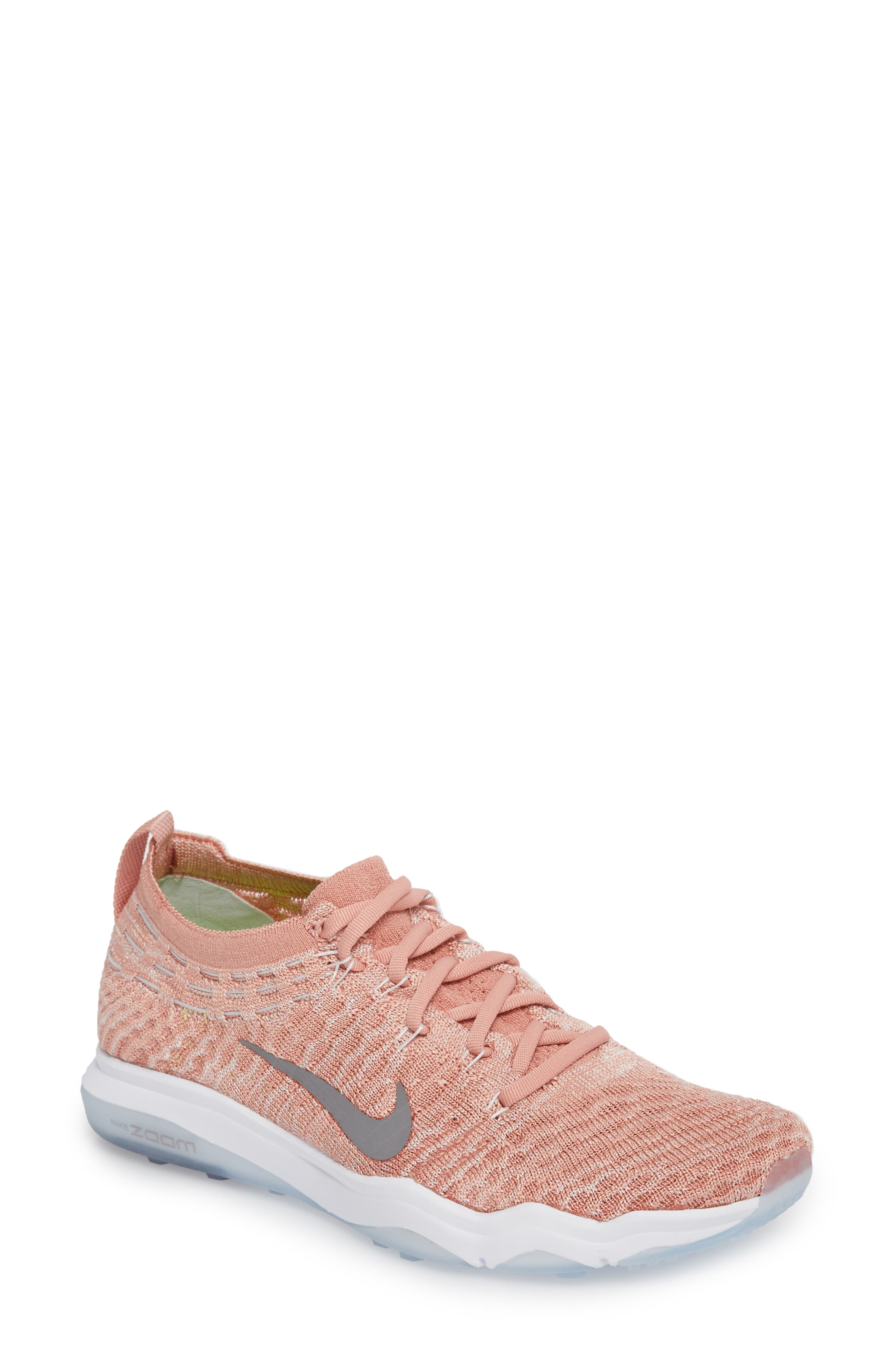 Air Zoom Fearless Flyknit Lux Training Shoe,                             Main thumbnail 3, color,