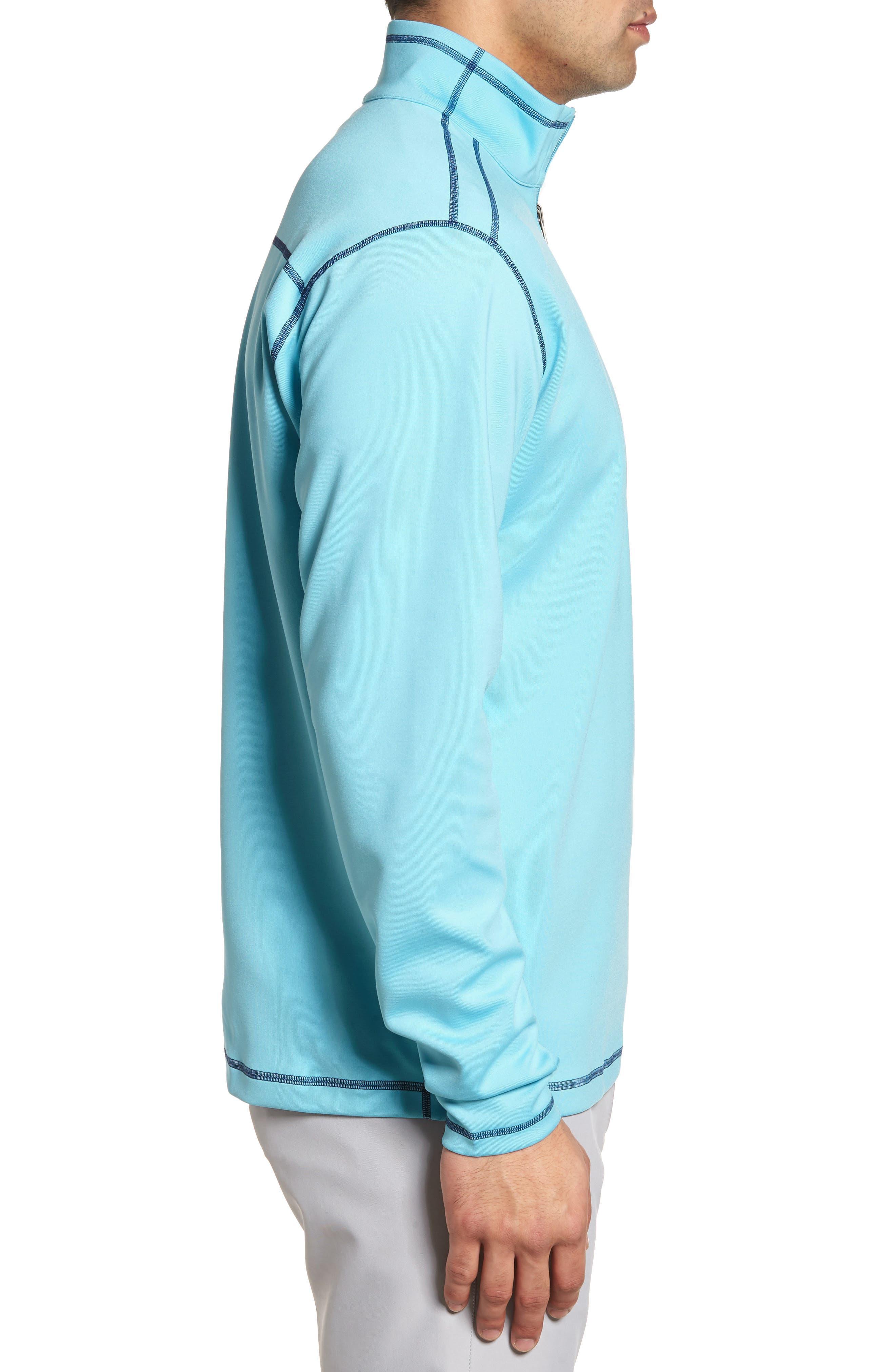 Evergreen Classic Fit DryTec Reversible Half Zip Pullover,                             Alternate thumbnail 3, color,                             473