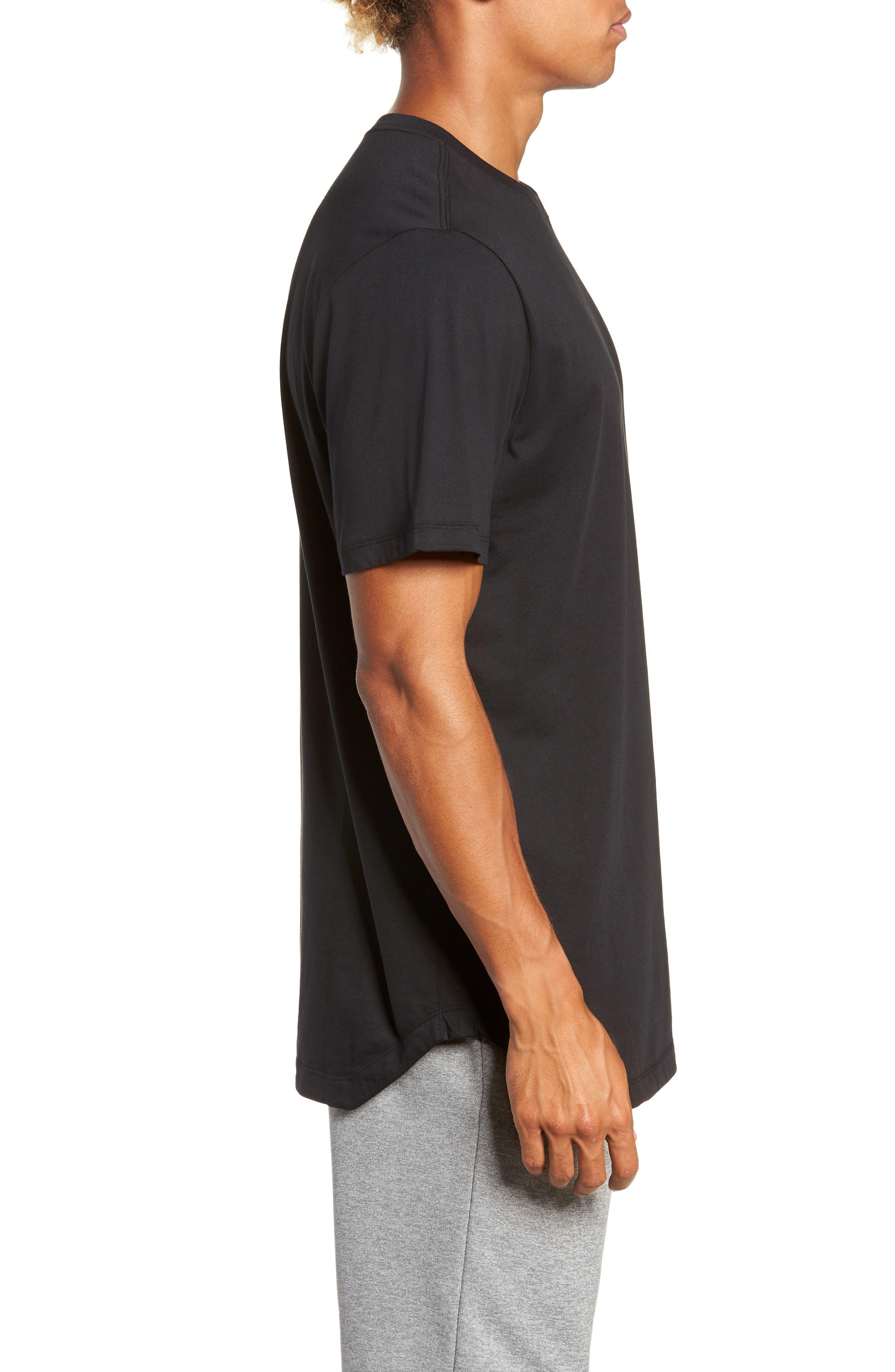 NSW Futura T-Shirt,                             Alternate thumbnail 3, color,                             BLACK/ BLACK