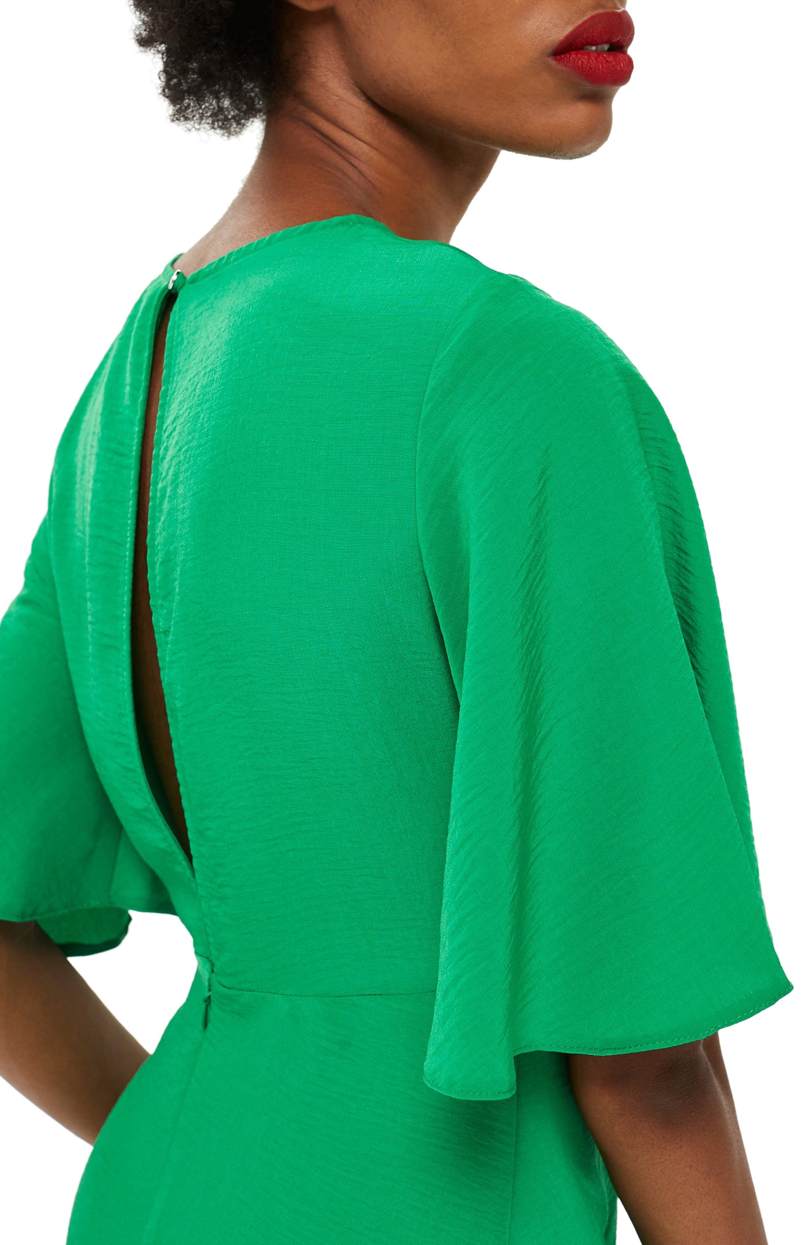 Cutabout Minidress,                             Alternate thumbnail 3, color,                             GREEN