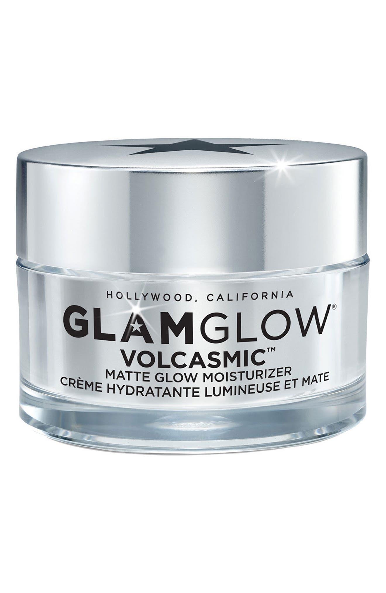 GLAMGLOW<SUP>®</SUP>,                             VOLCASMIC<sup>™</sup> Matte Glow Moisturizer,                             Main thumbnail 1, color,                             NO COLOR