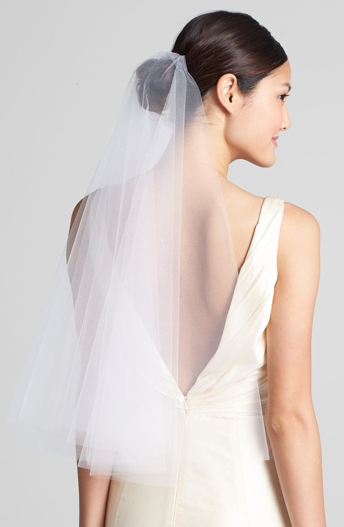 'Madeline - Crystal' Two Tier Veil,                             Main thumbnail 3, color,