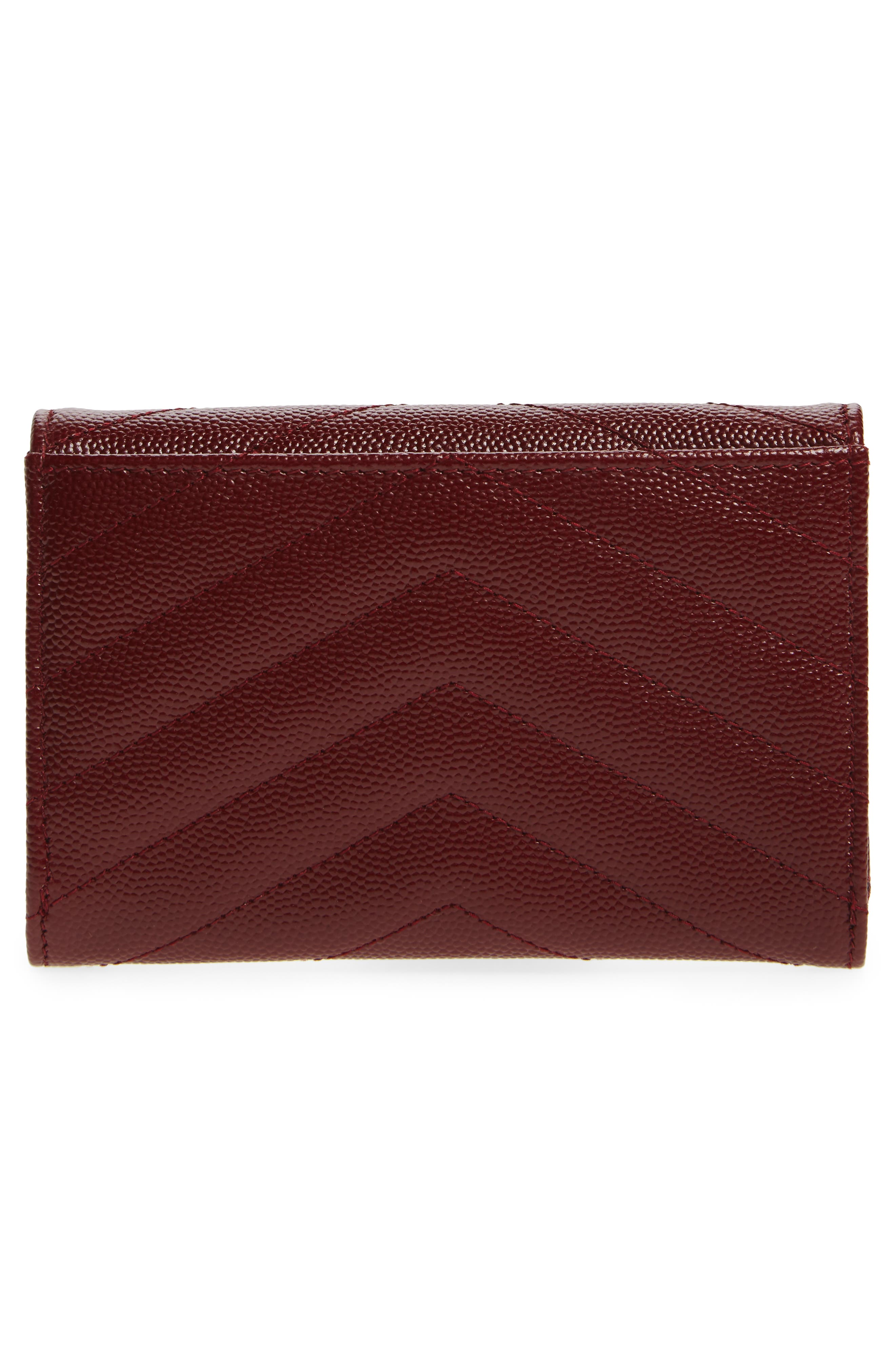 'Small Monogram' Leather French Wallet,                             Alternate thumbnail 26, color,