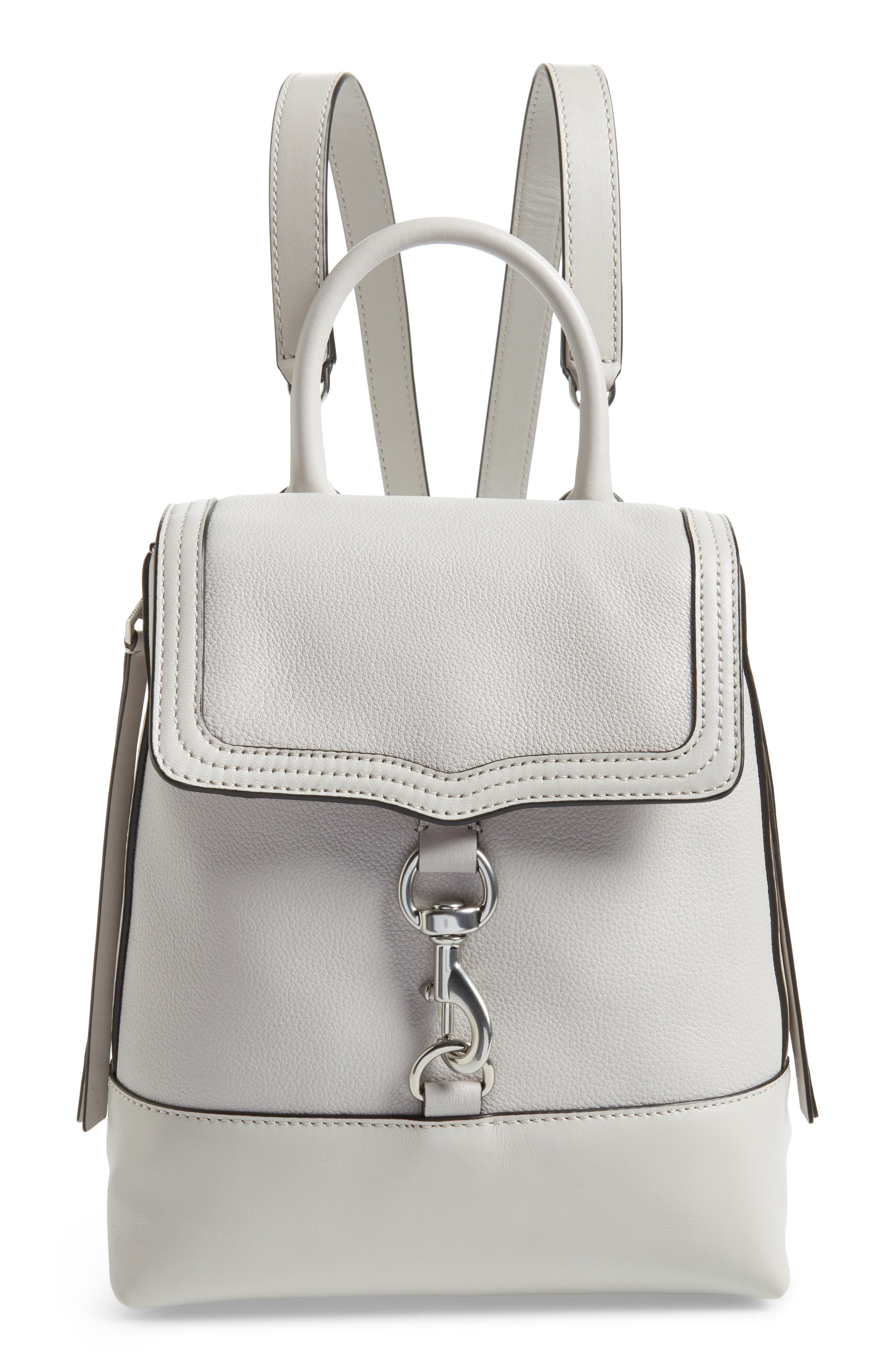 Bree Leather Convertible Backpack,                             Main thumbnail 2, color,