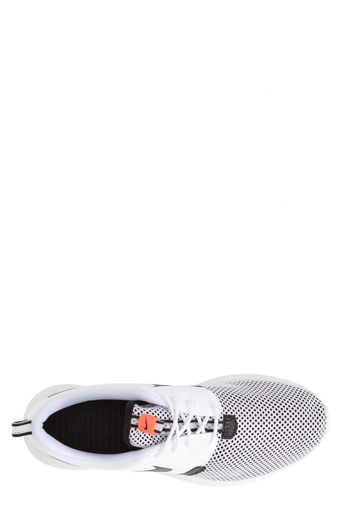 'Roshe Run NM Breeze' Sneaker,                             Alternate thumbnail 4, color,                             100