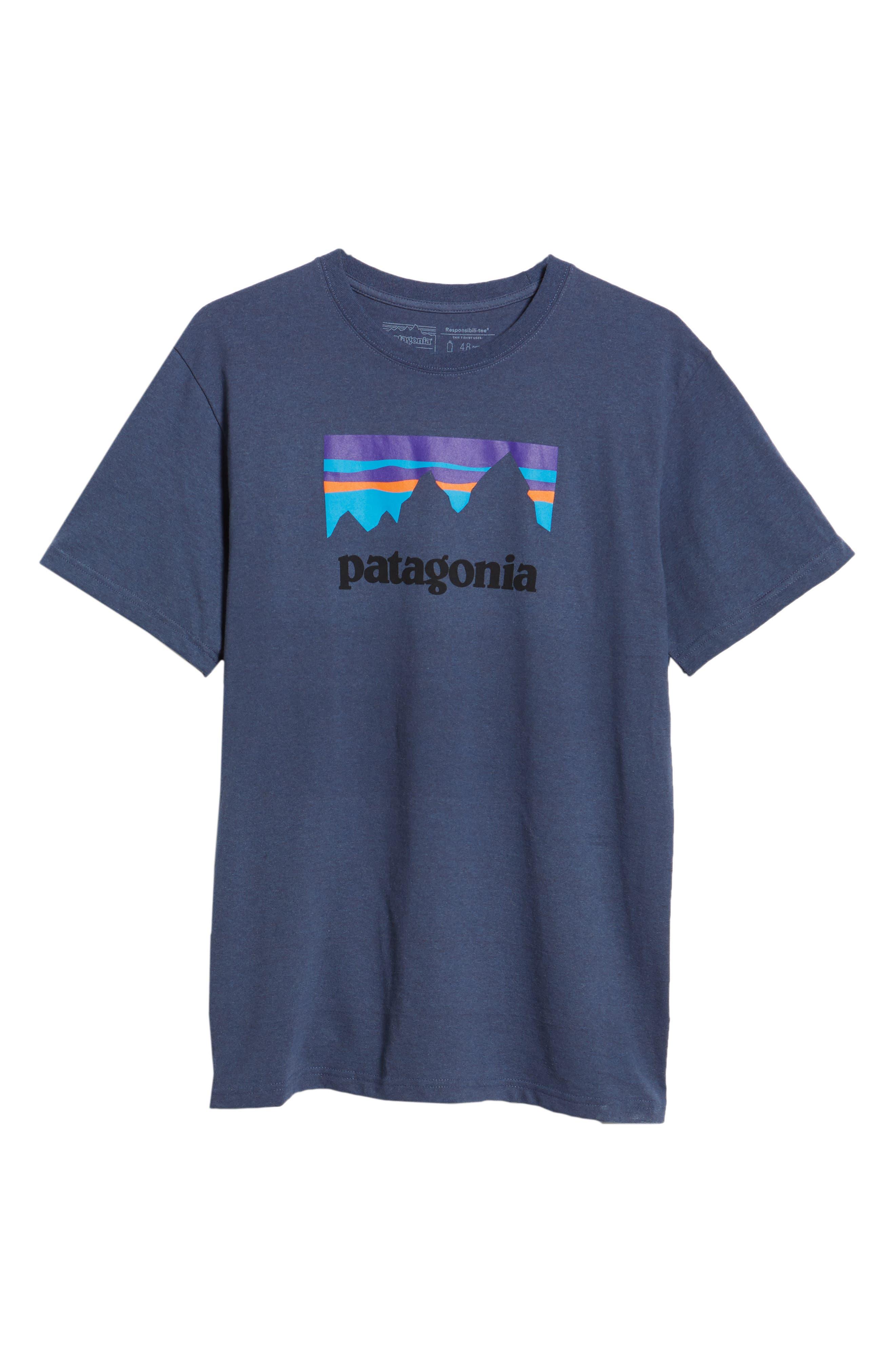 Shop Sticker Responsibili-Tee T-Shirt,                             Alternate thumbnail 6, color,                             DOLOMITE BLUE
