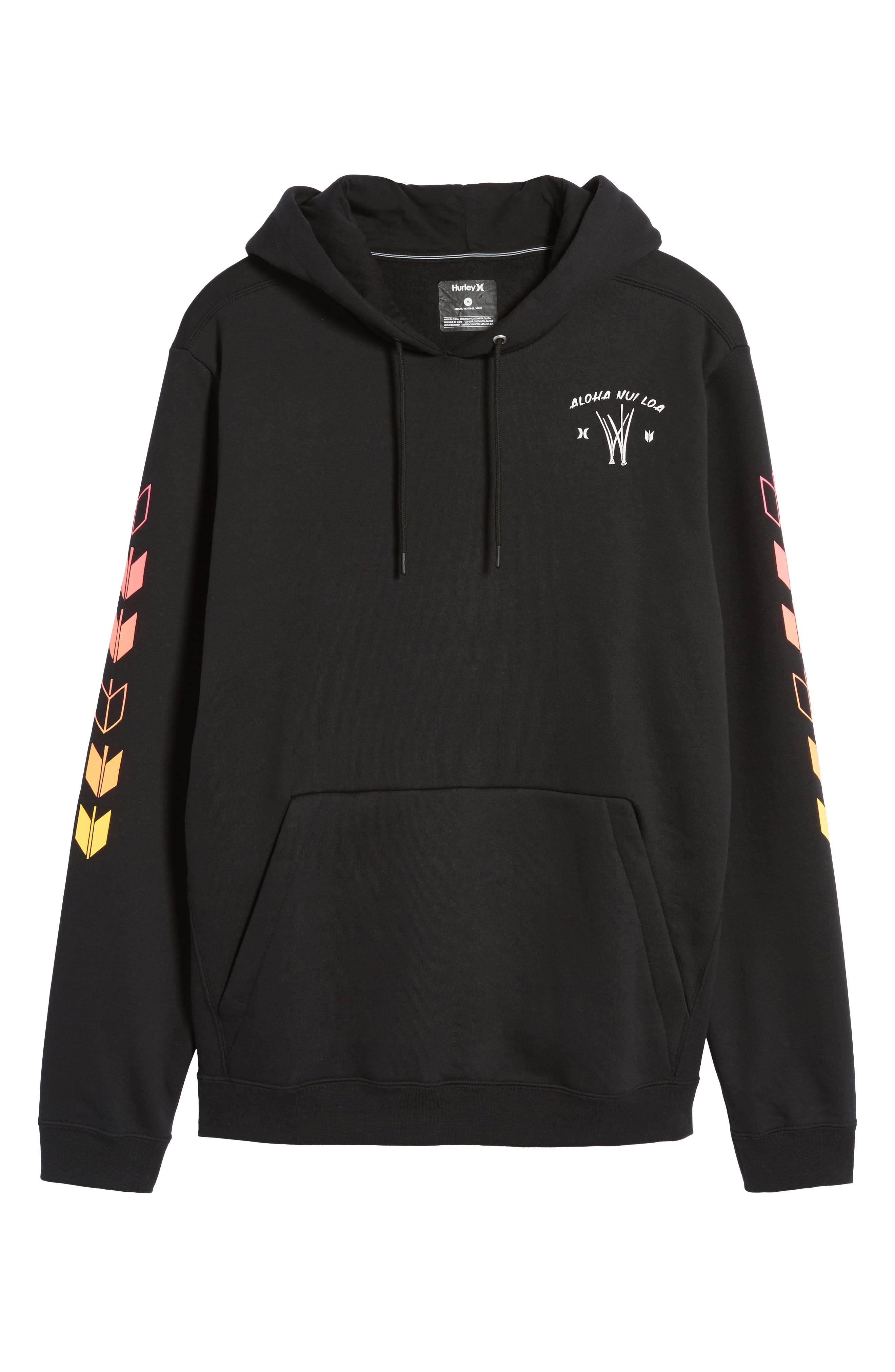 Surf Check Sig Zane Pullover Hoodie,                             Alternate thumbnail 6, color,