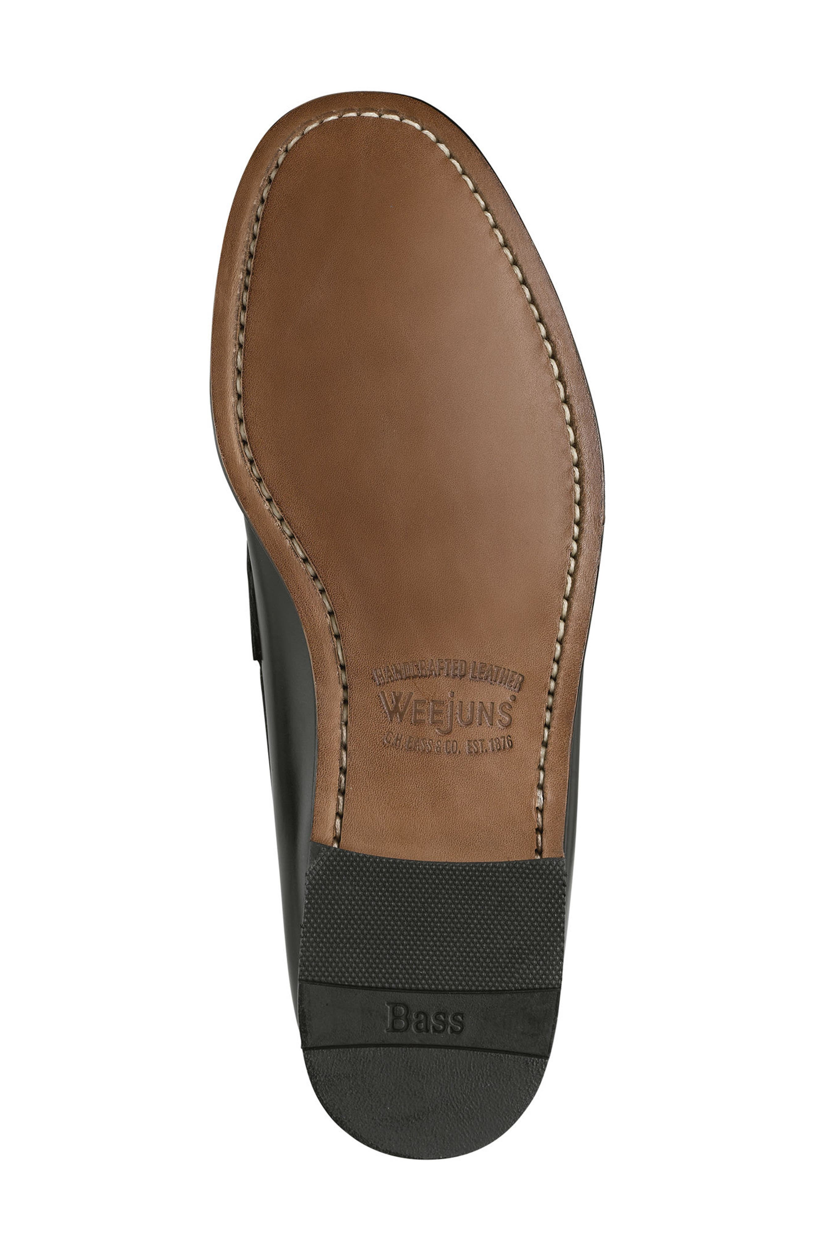 Logan Penny Loafer,                             Alternate thumbnail 5, color,                             001