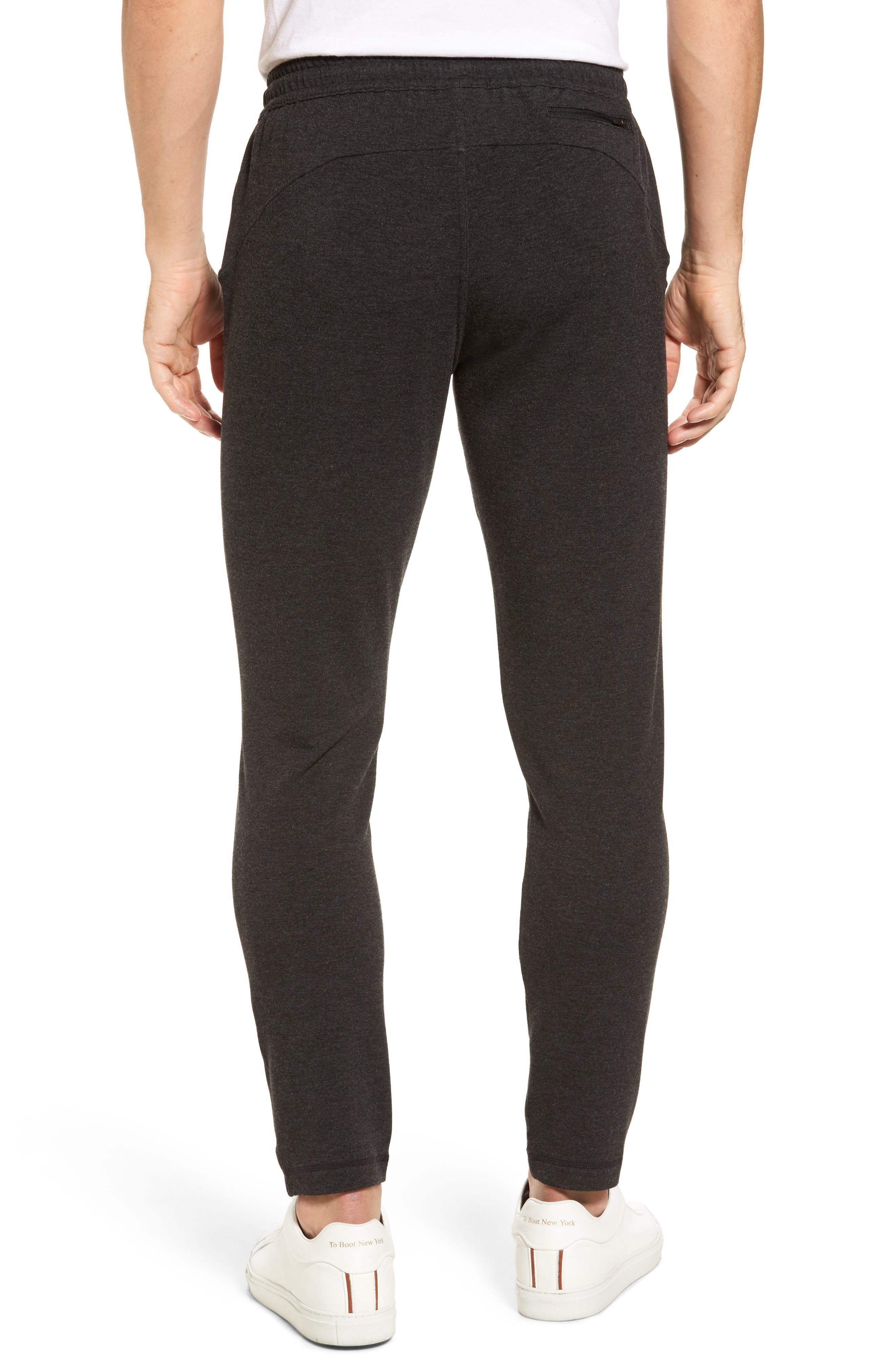 New Pyrite Tapered Fit Fleece Pants,                             Alternate thumbnail 2, color,