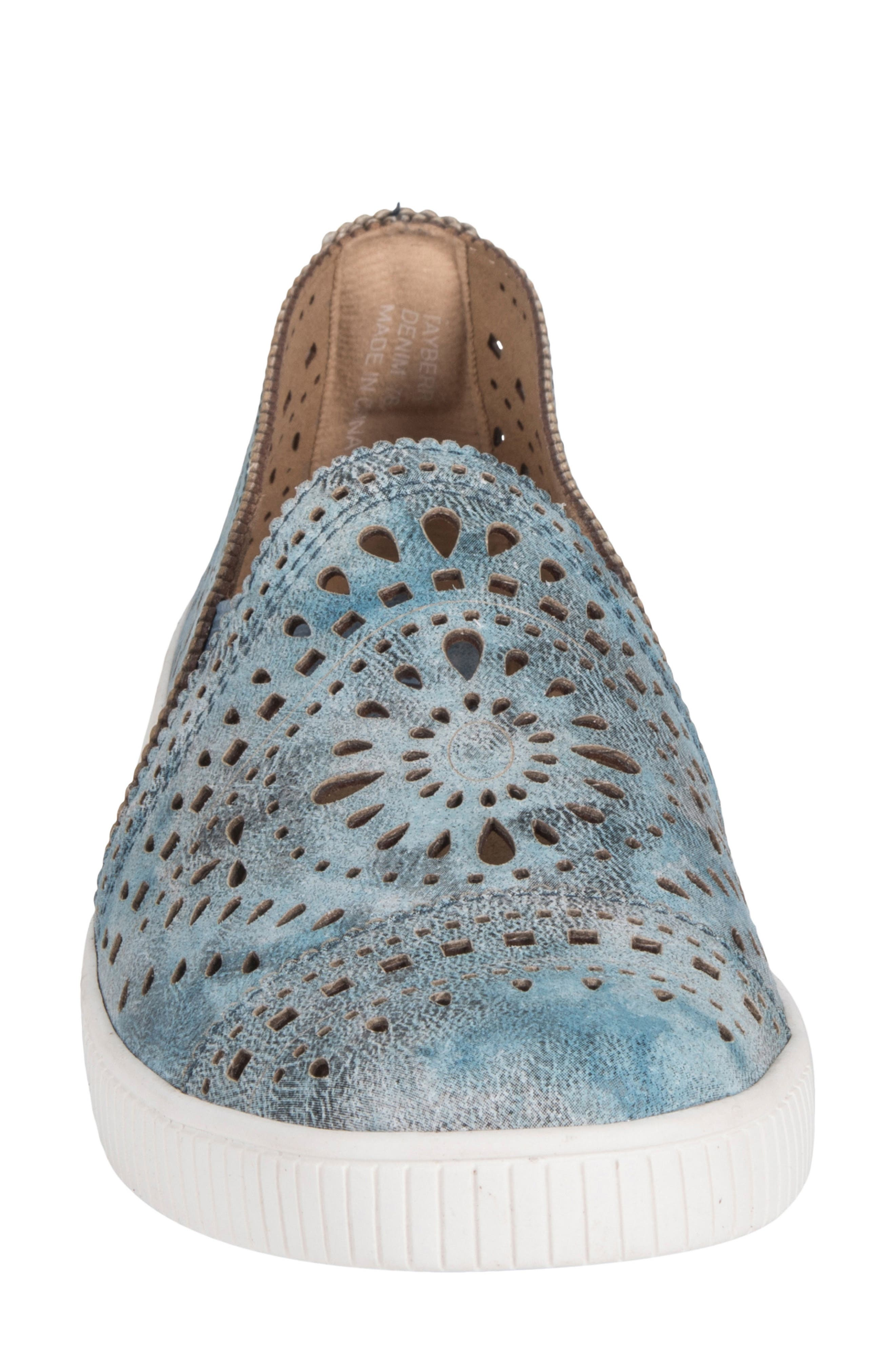 Tayberry Perforated Slip-On Sneaker,                             Alternate thumbnail 15, color,