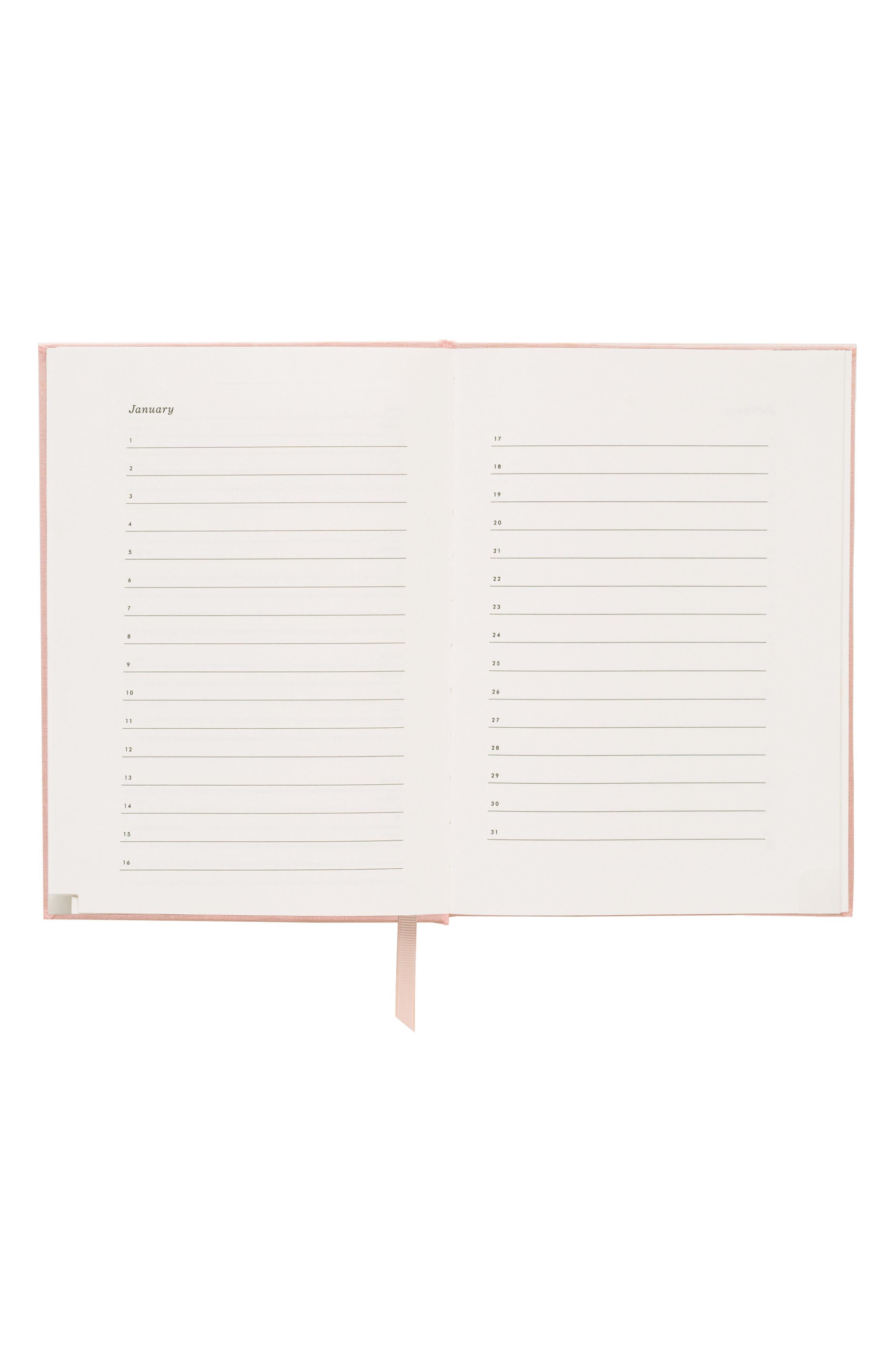 Blush Address Book,                             Alternate thumbnail 3, color,                             PINK