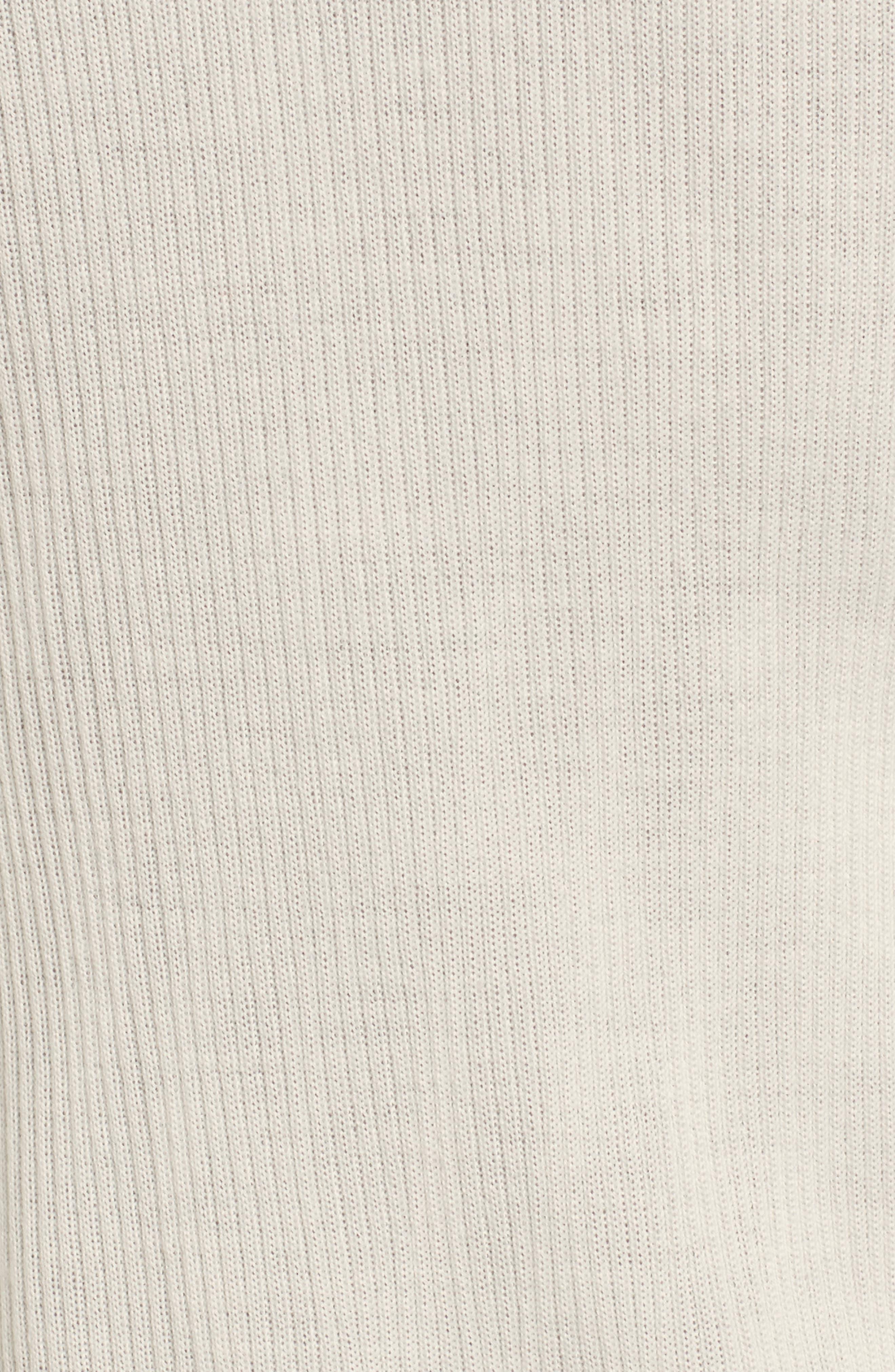 Rib Knit Wool Blend Cardigan,                             Alternate thumbnail 99, color,
