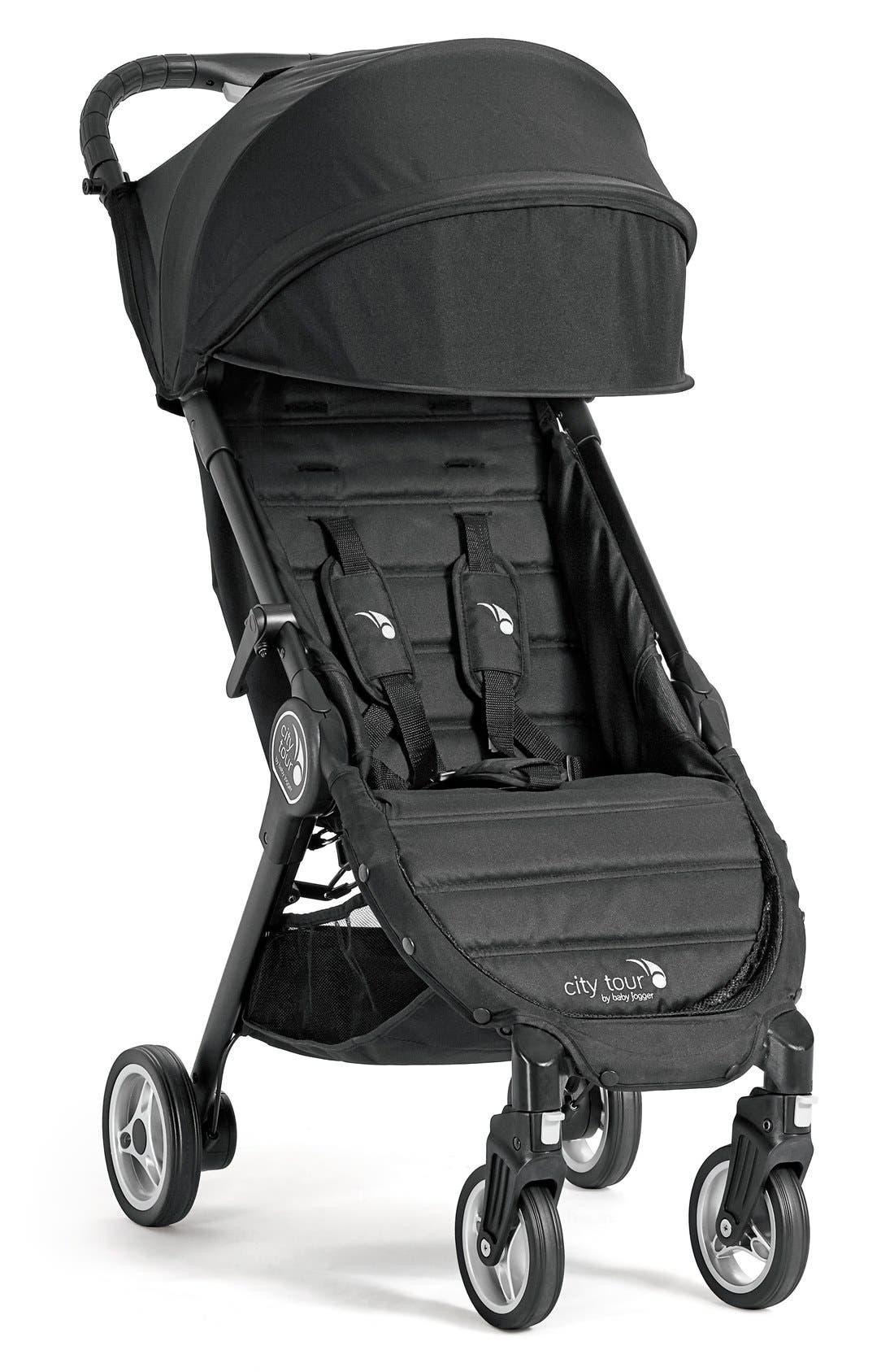 City Tour<sup>™</sup> Folding Stroller,                         Main,                         color, ONYX