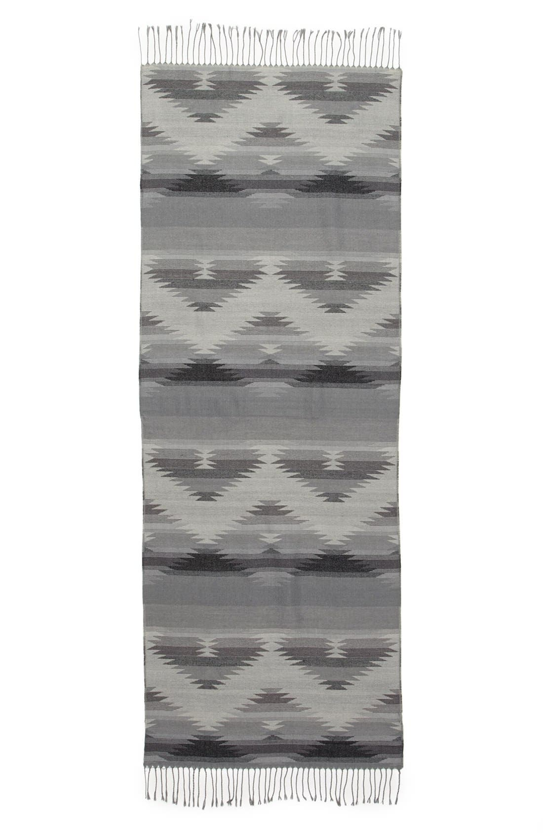 Southwestern Fringe Scarf,                             Alternate thumbnail 2, color,                             020