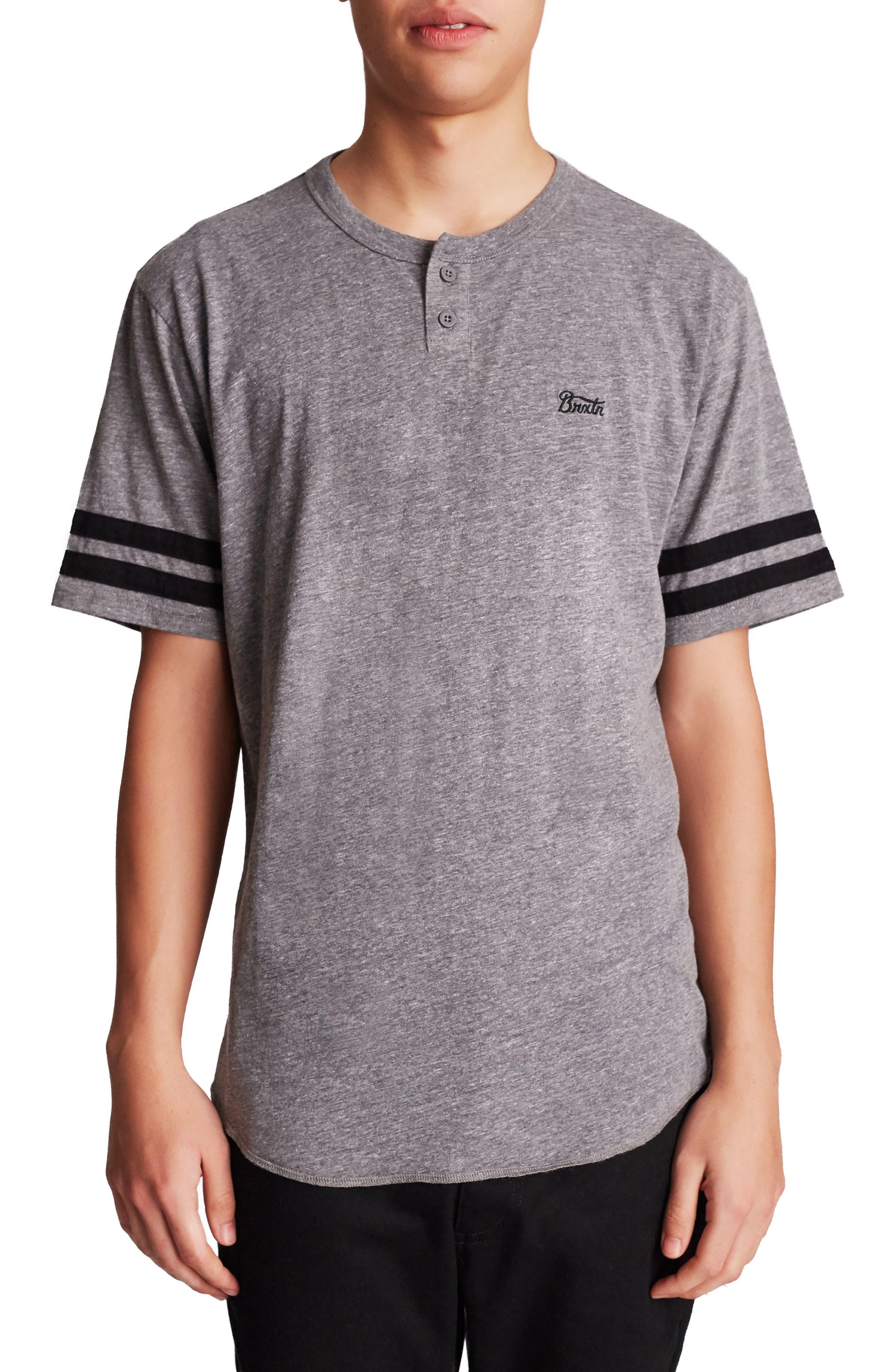 Potrero II Varsity Henley T-Shirt,                         Main,                         color, 050