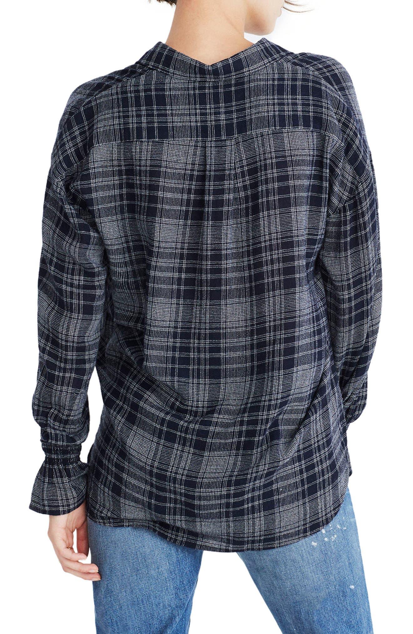 Westward Bell Sleeve Shirt,                             Alternate thumbnail 2, color,                             400