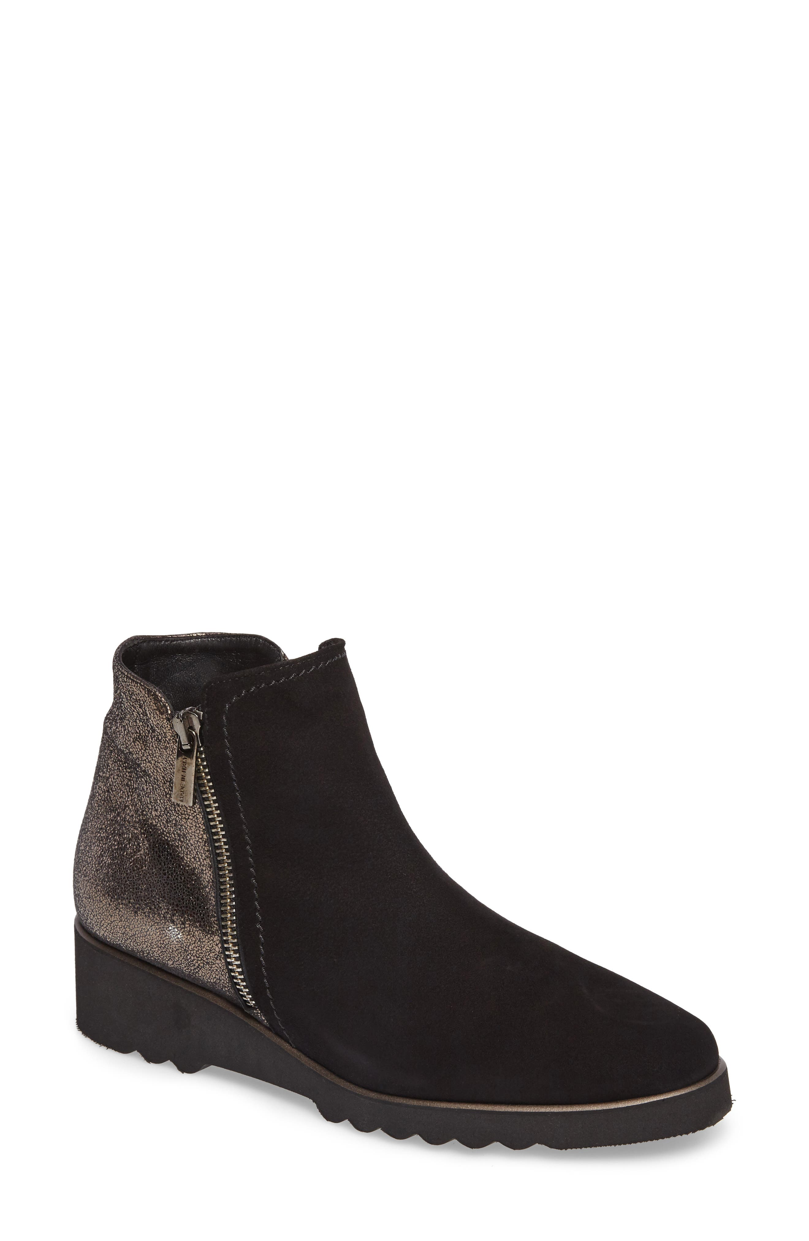 Addie Wedge Bootie,                             Main thumbnail 1, color,
