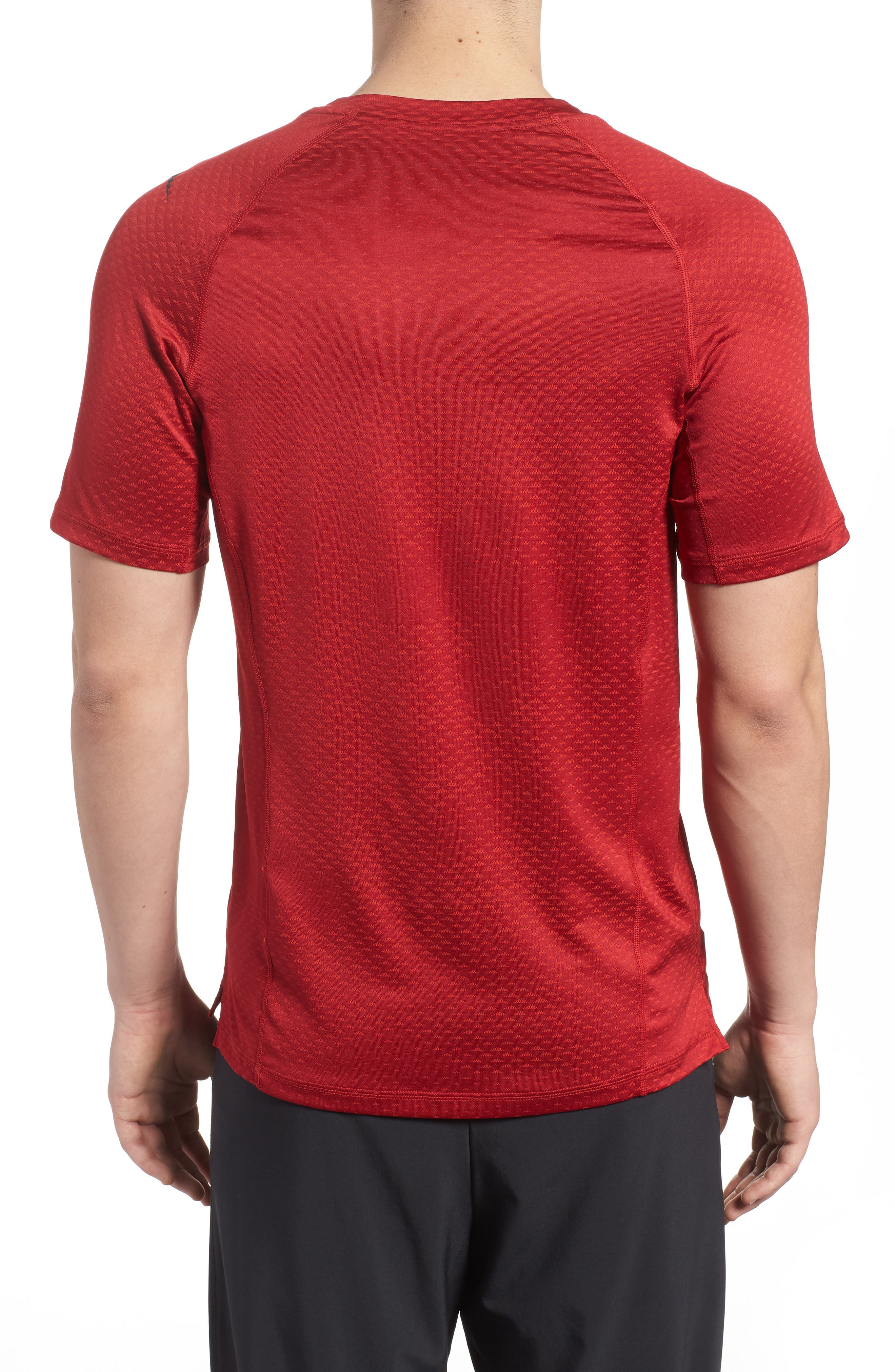 Pro HyperCool Fitted Crewneck T-Shirt,                             Alternate thumbnail 6, color,